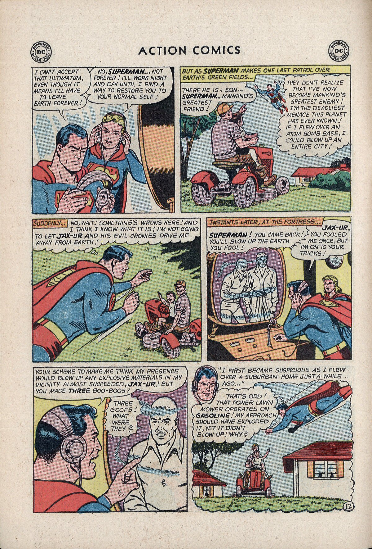 Read online Action Comics (1938) comic -  Issue #310 - 14