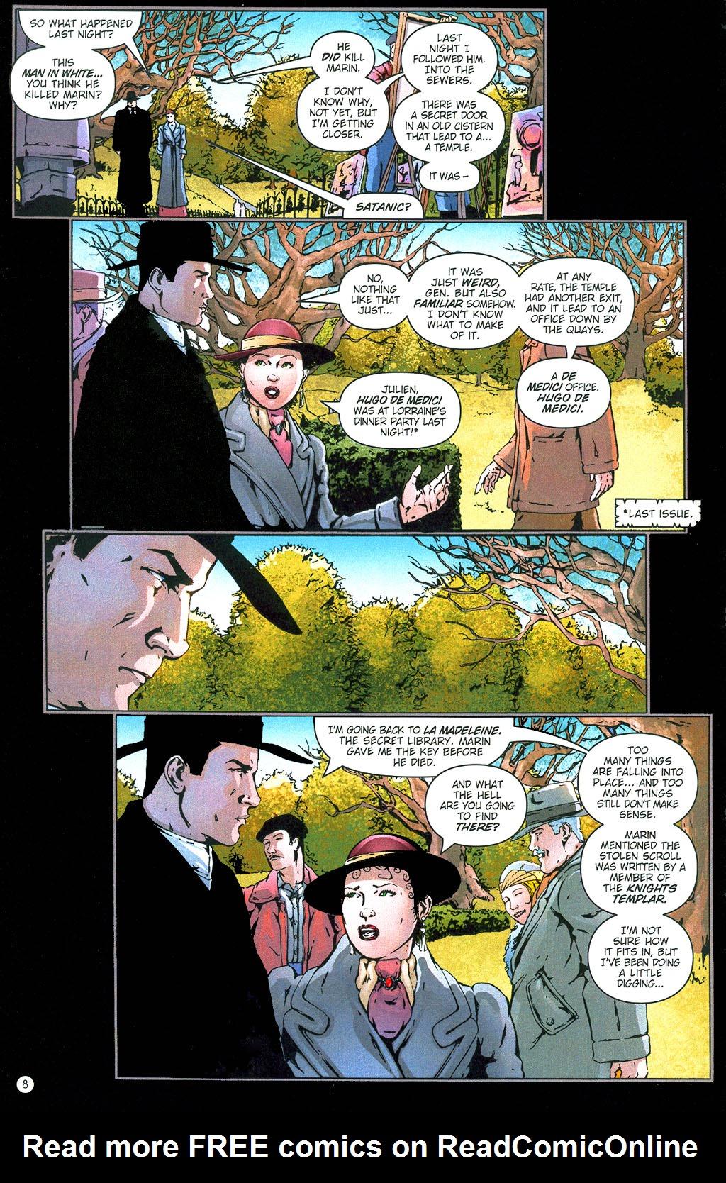 Read online Rex Mundi comic -  Issue #6 - 11