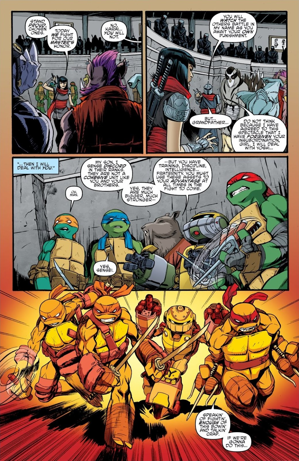 Read online Teenage Mutant Ninja Turtles: The IDW Collection comic -  Issue # TPB 6 (Part 3) - 31