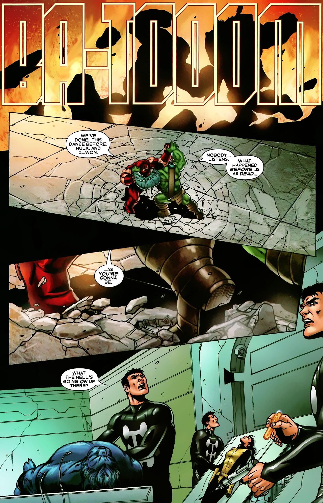 Read online World War Hulk: X-Men comic -  Issue #3 - 18