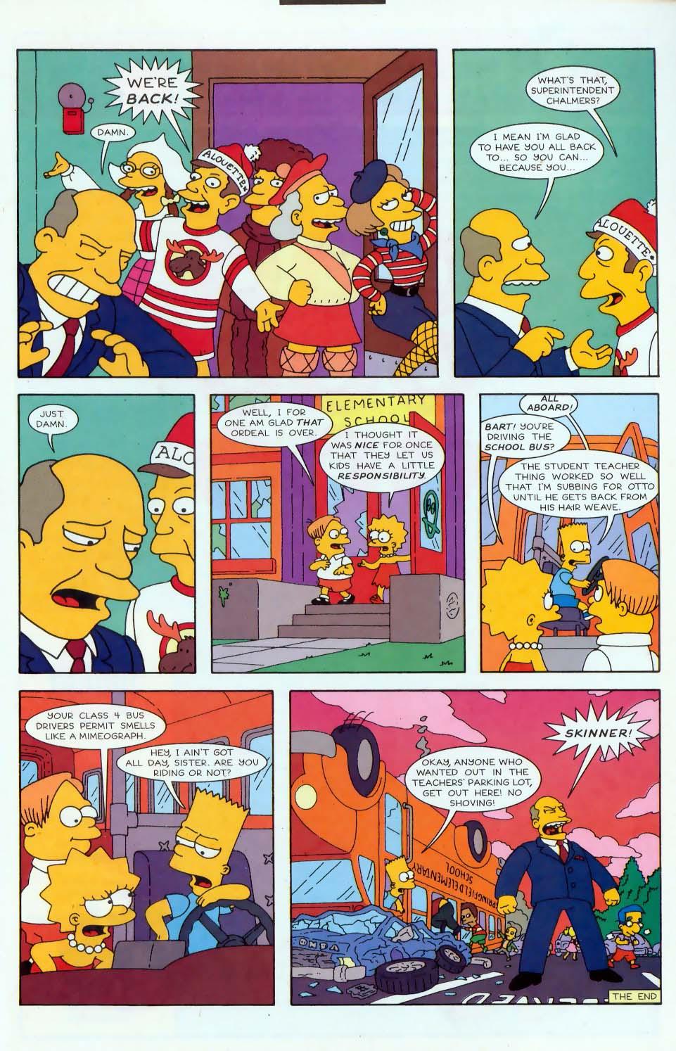 Read online Simpsons Comics comic -  Issue #44 - 22