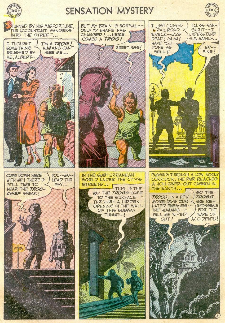 Read online Sensation (Mystery) Comics comic -  Issue #110 - 18