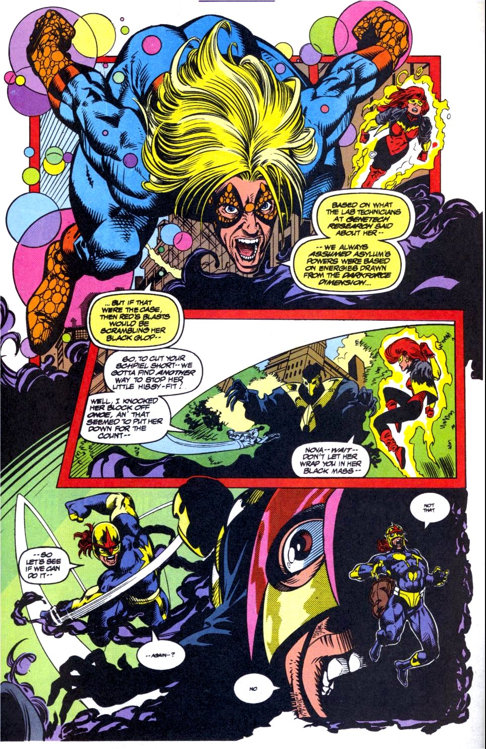 The New Warriors Issue #40 #44 - English 6
