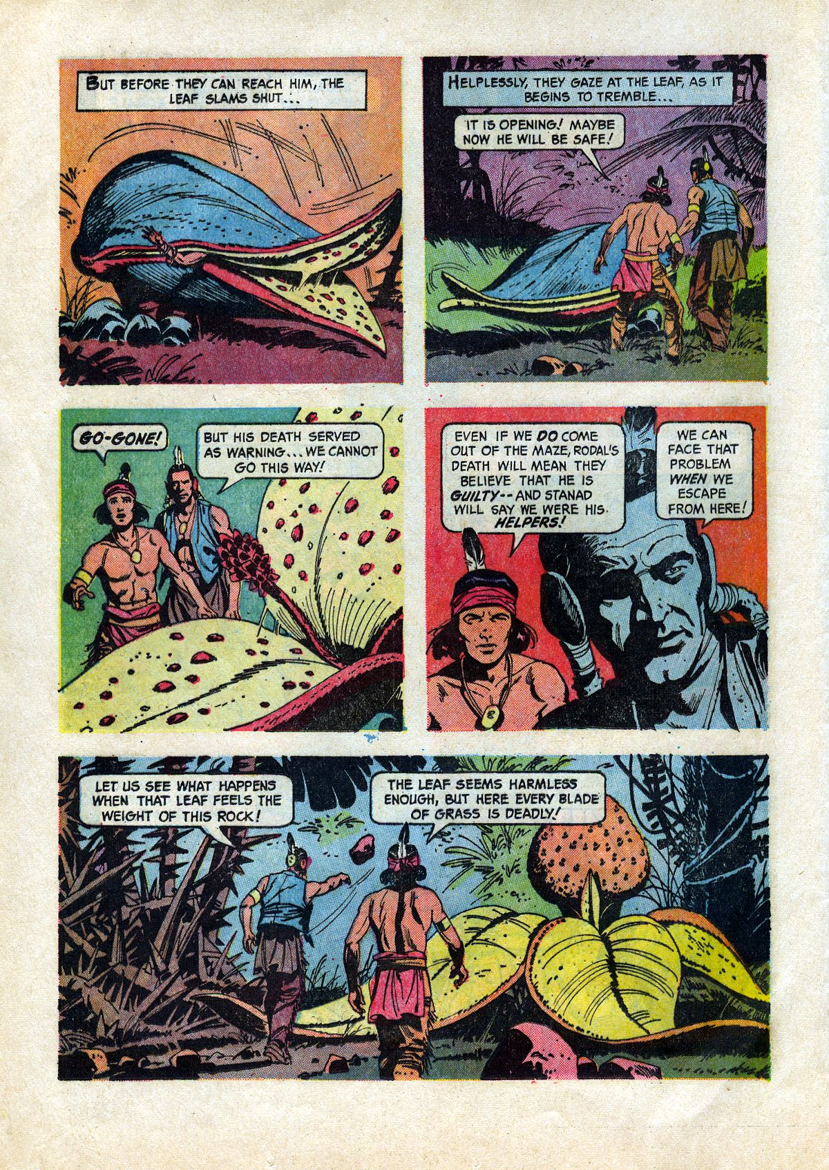 Read online Turok, Son of Stone comic -  Issue #45 - 16