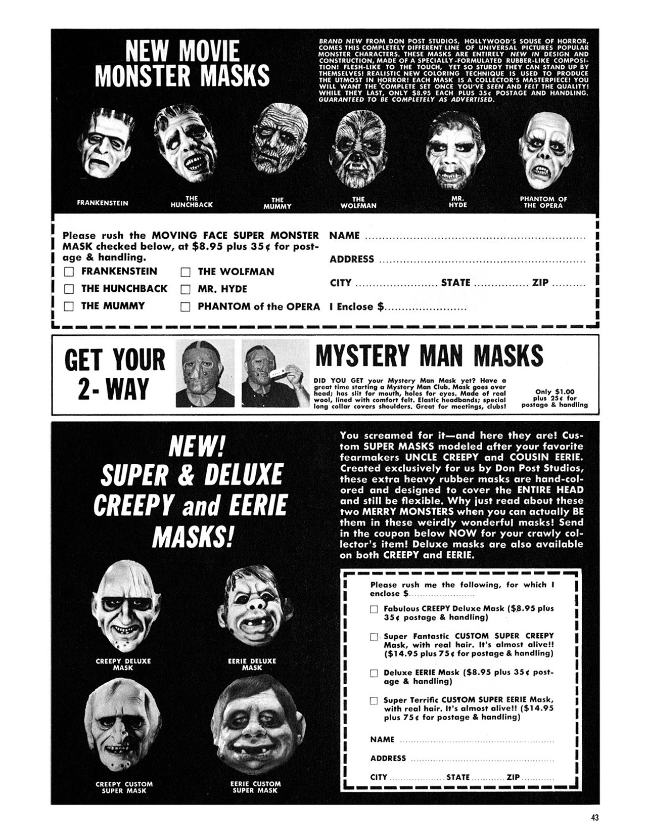 Read online Eerie Archives comic -  Issue # TPB 3 - 44
