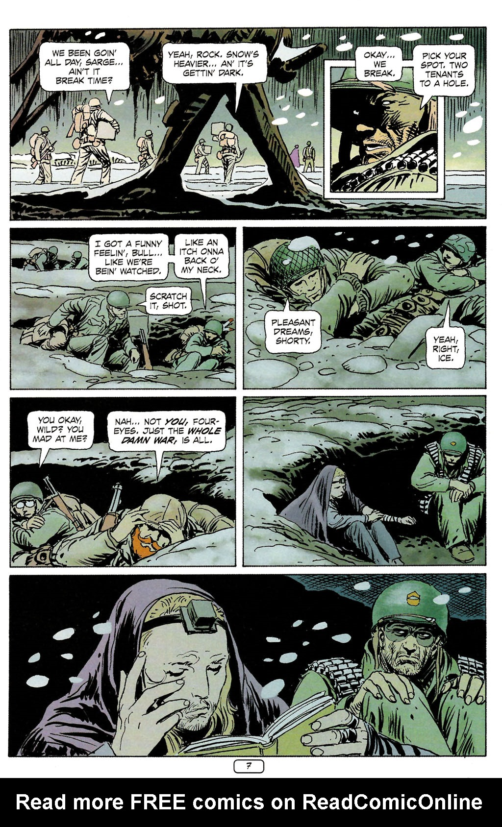 Read online Sgt. Rock: The Prophecy comic -  Issue #4 - 7
