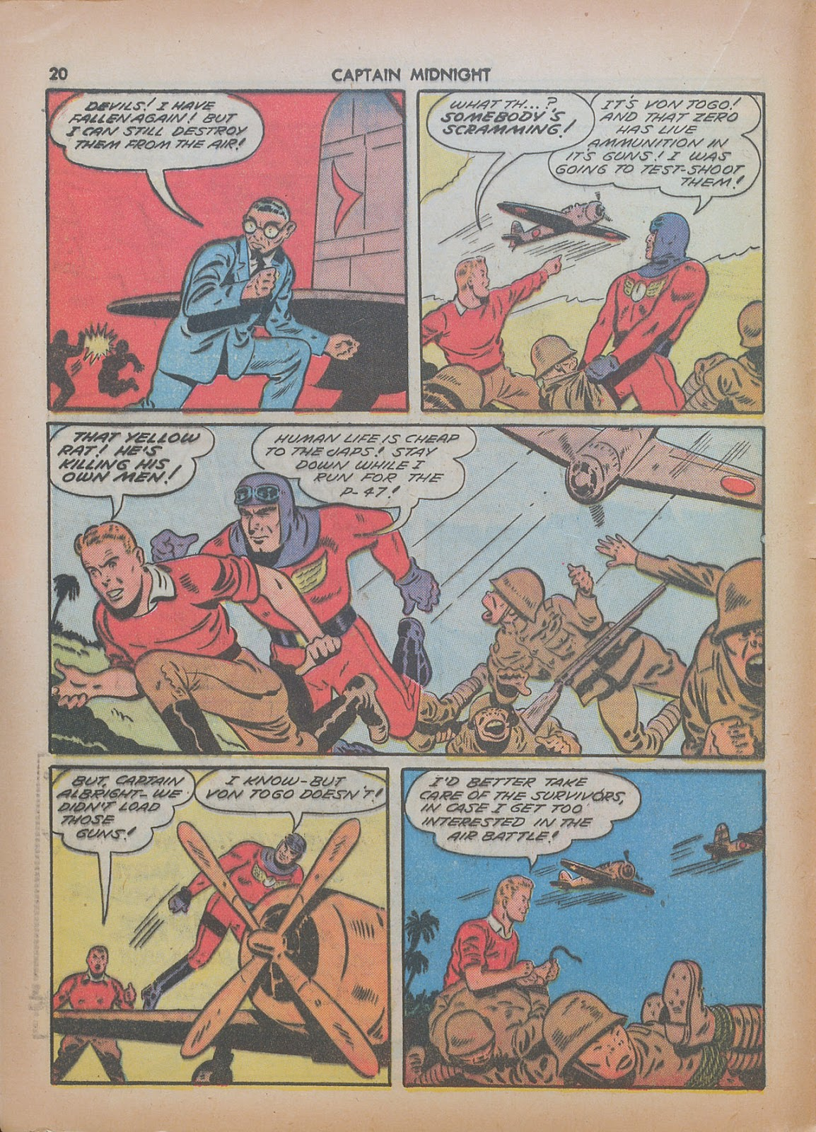 Captain Midnight (1942) issue 7 - Page 20