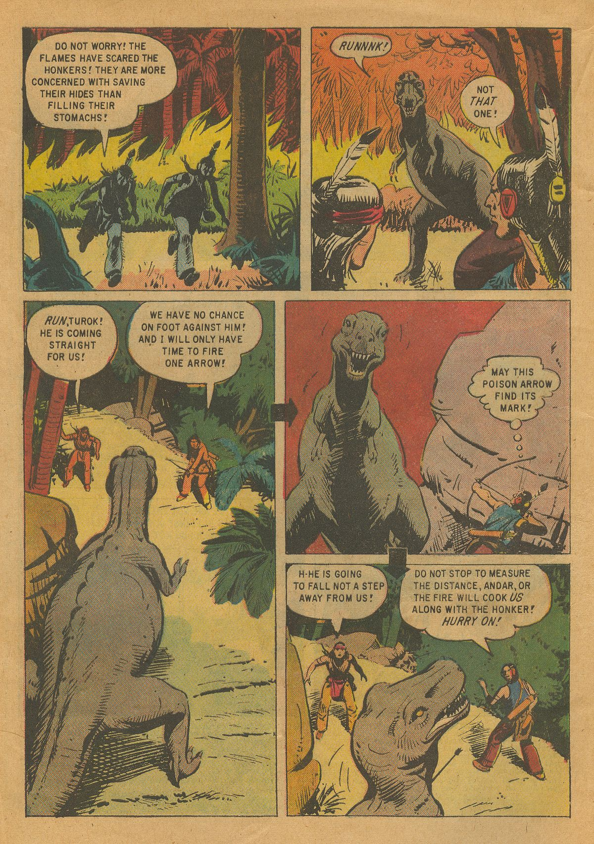 Read online Turok, Son of Stone comic -  Issue #22 - 4