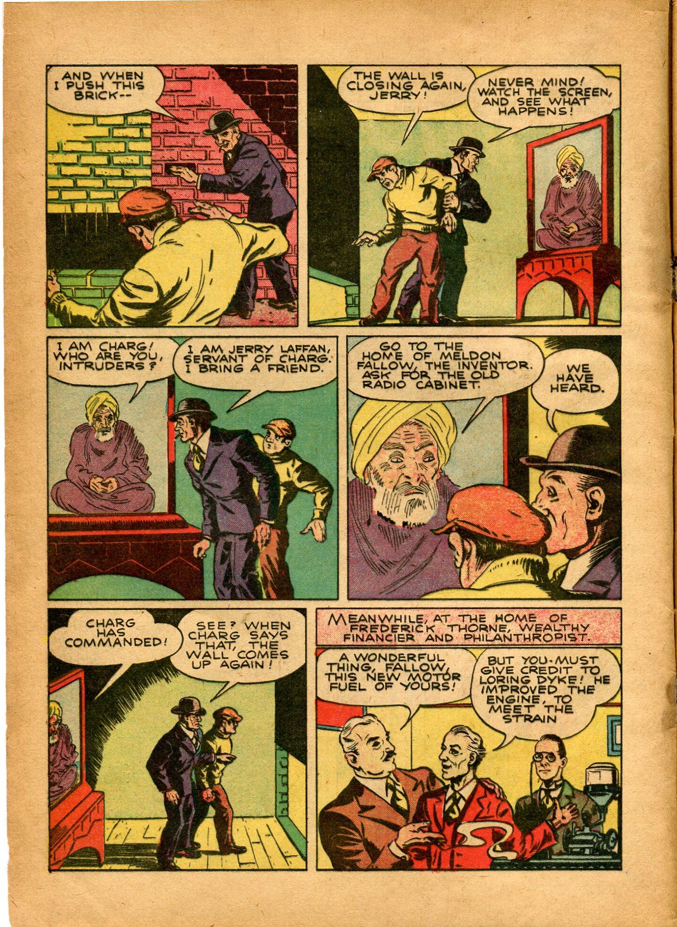 Read online Shadow Comics comic -  Issue #8 - 4
