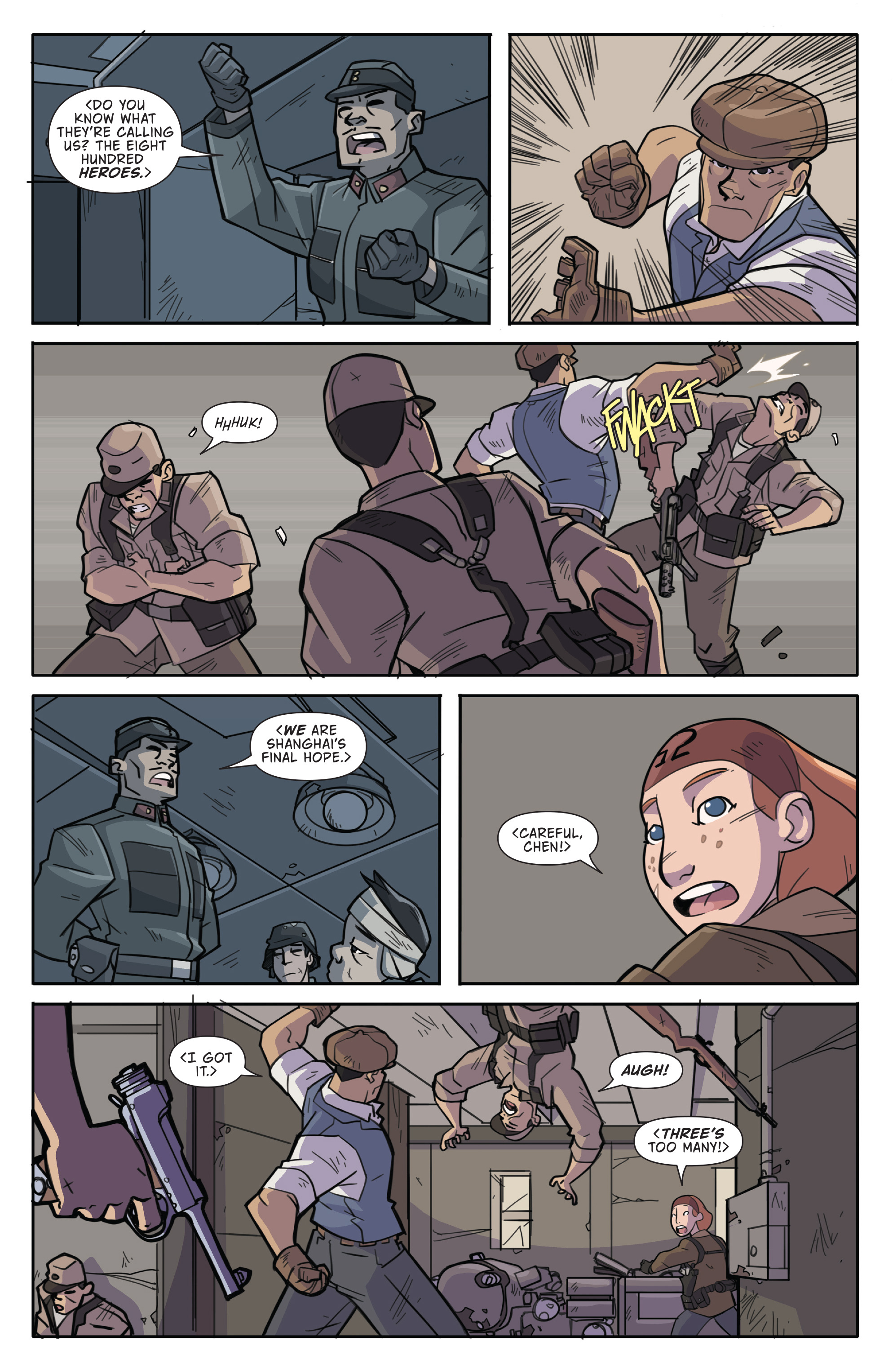 Read online Atomic Robo and the Temple of Od comic -  Issue #2 - 4