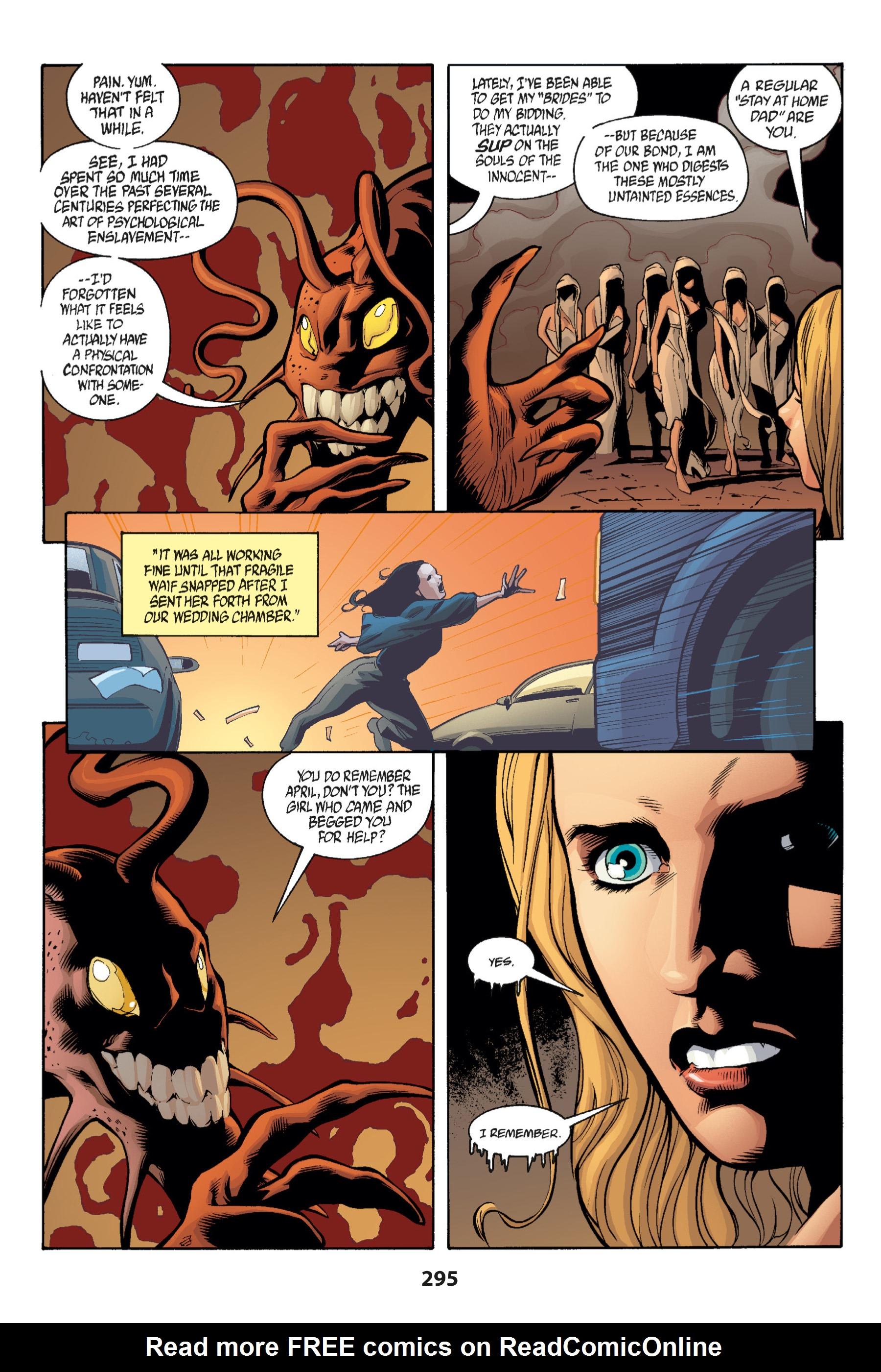 Read online Buffy the Vampire Slayer: Omnibus comic -  Issue # TPB 1 - 283