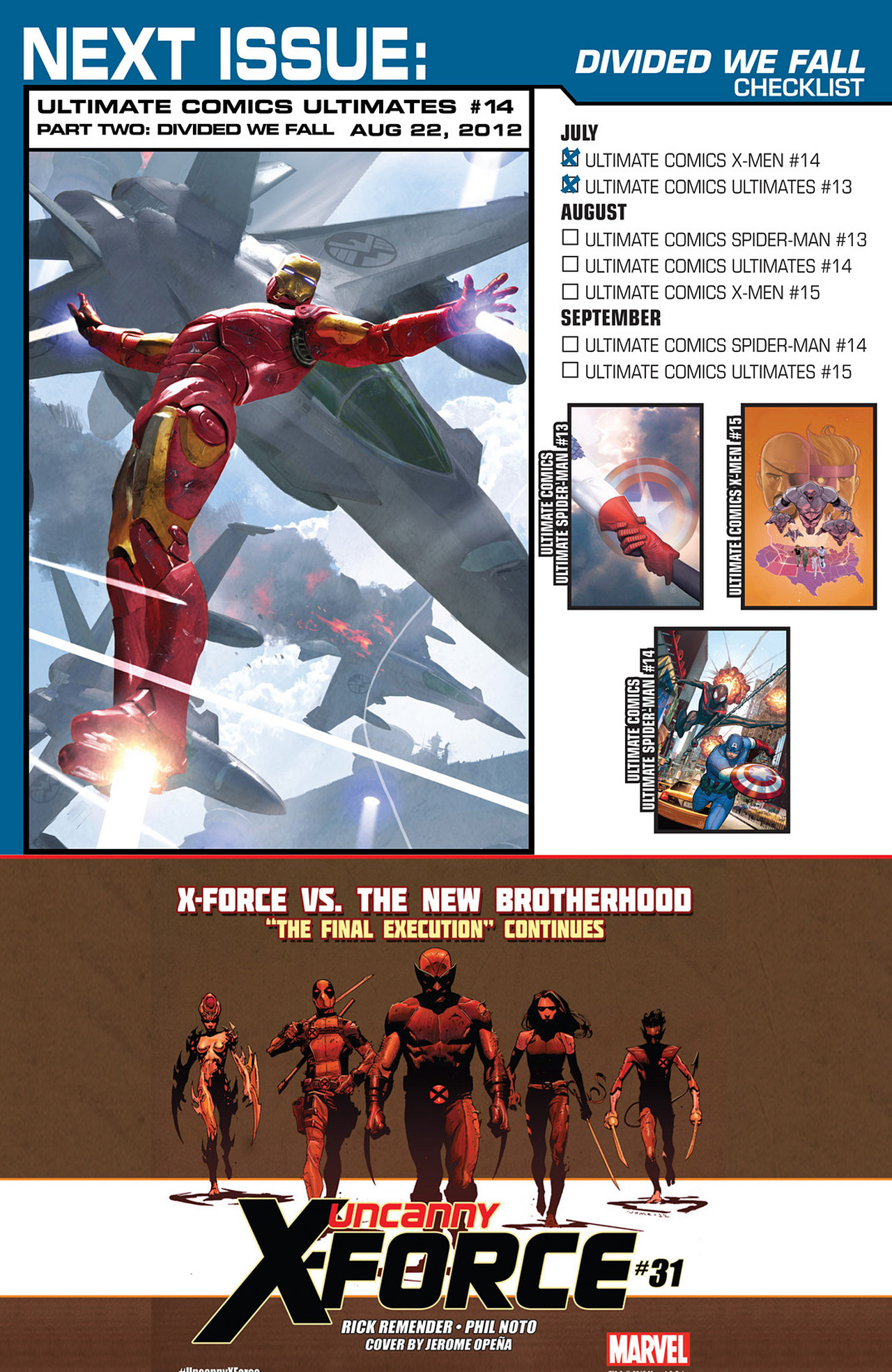 Read online Ultimate Comics Ultimates comic -  Issue #13 - 24