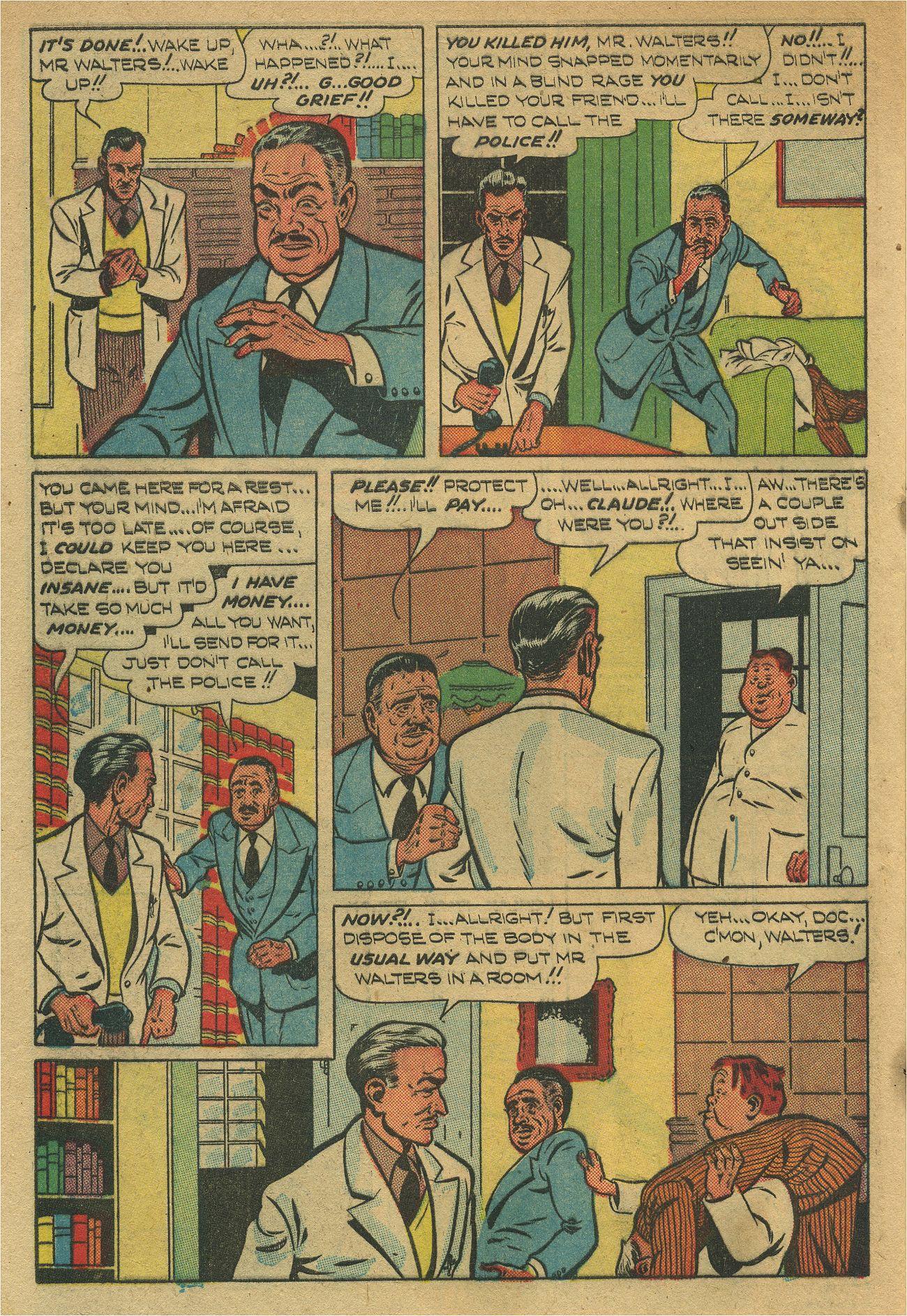 Read online Shadow Comics comic -  Issue #93 - 43
