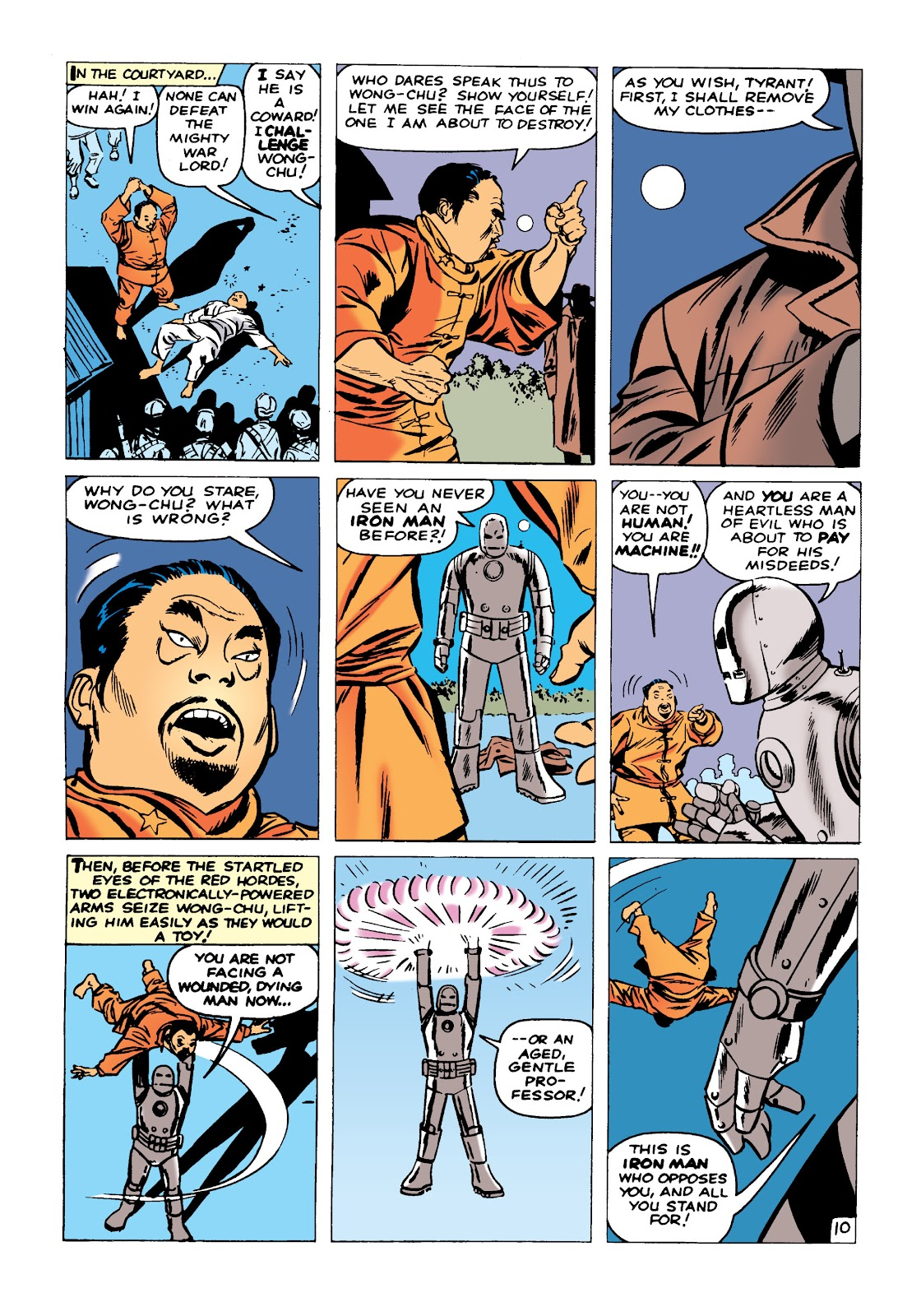 Read online Marvel Masterworks: The Invincible Iron Man comic -  Issue # TPB 1 (Part 1) - 13