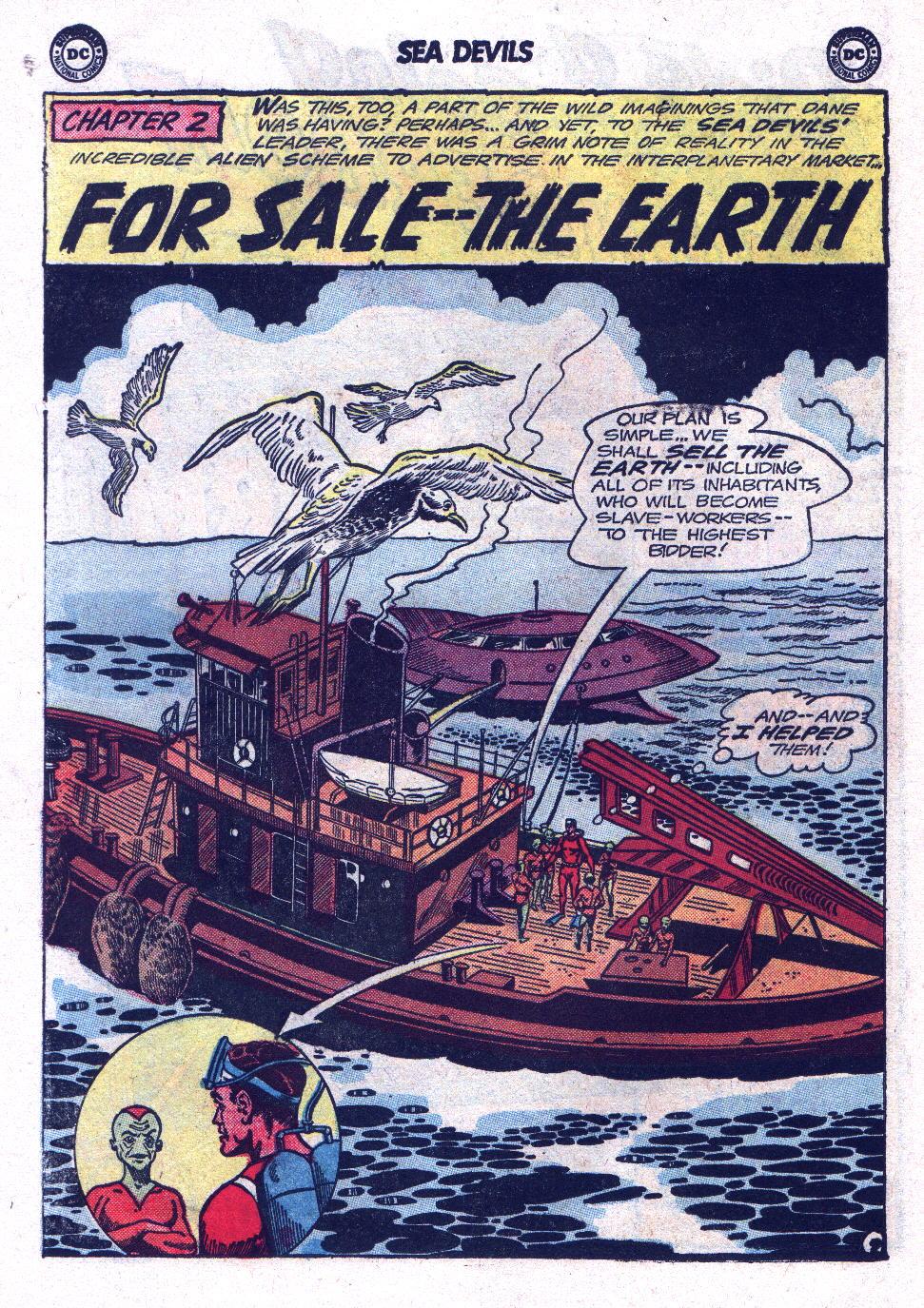 Read online Sea Devils comic -  Issue #17 - 14