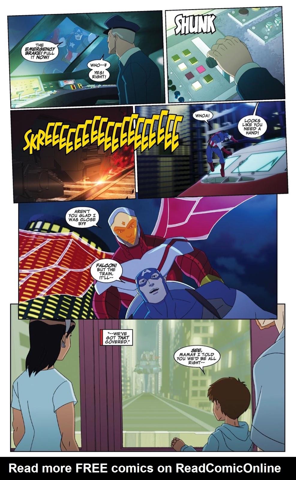 Read online Marvel Universe Avengers Assemble Season 2 comic -  Issue #4 - 14
