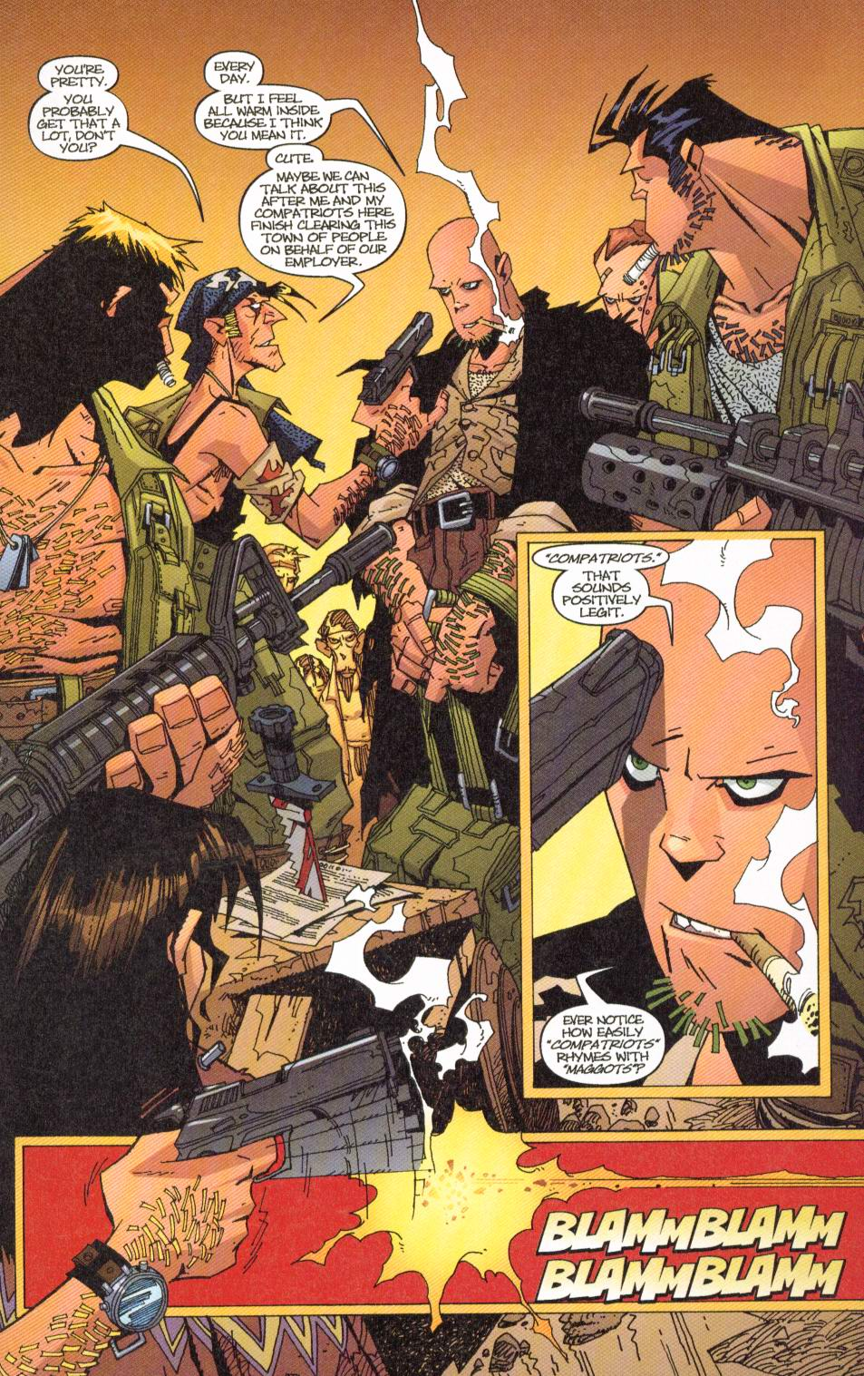 Wildcats (1999) Issue #7 #8 - English 6