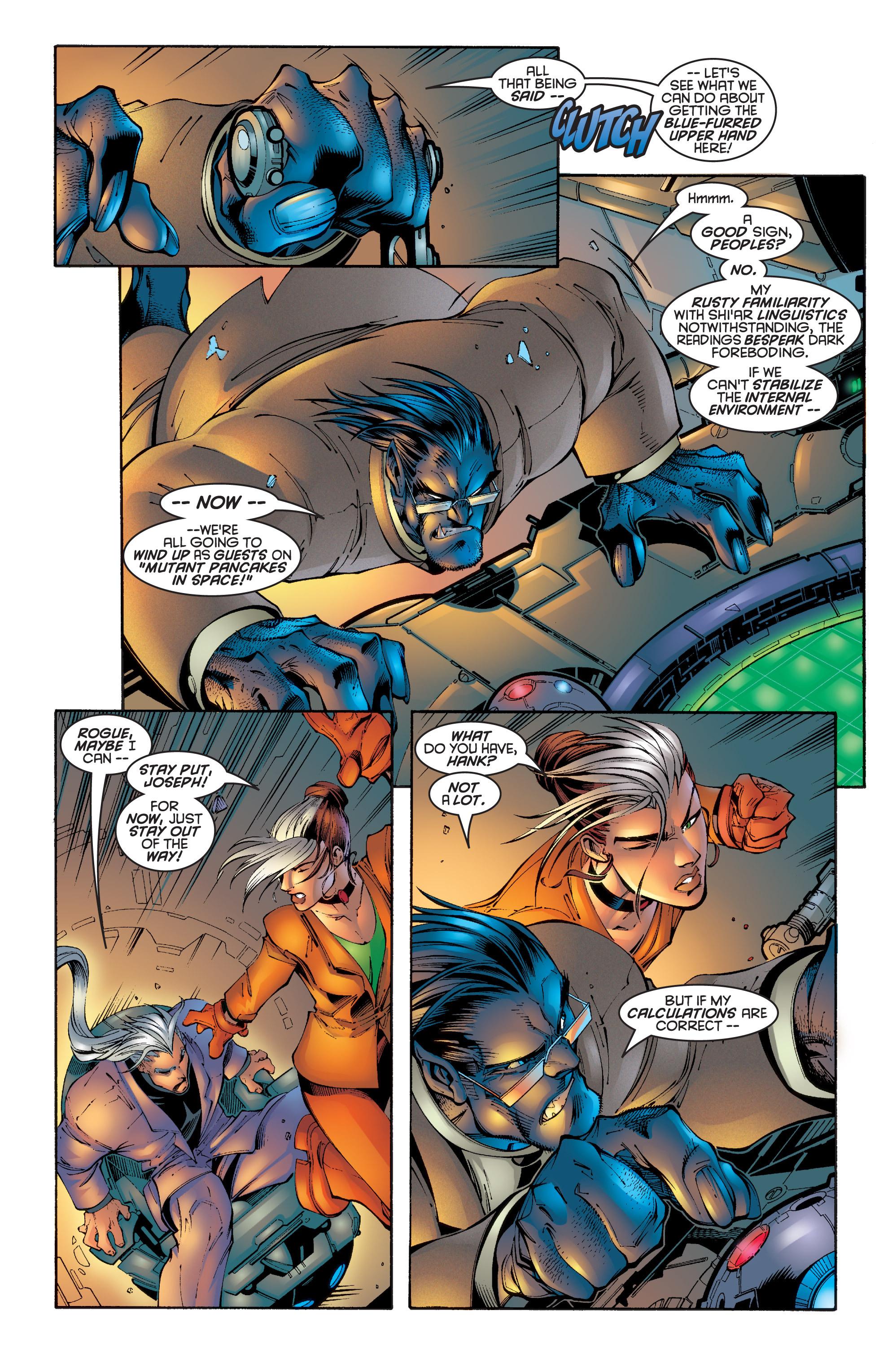 Read online Uncanny X-Men (1963) comic -  Issue #342 - 4
