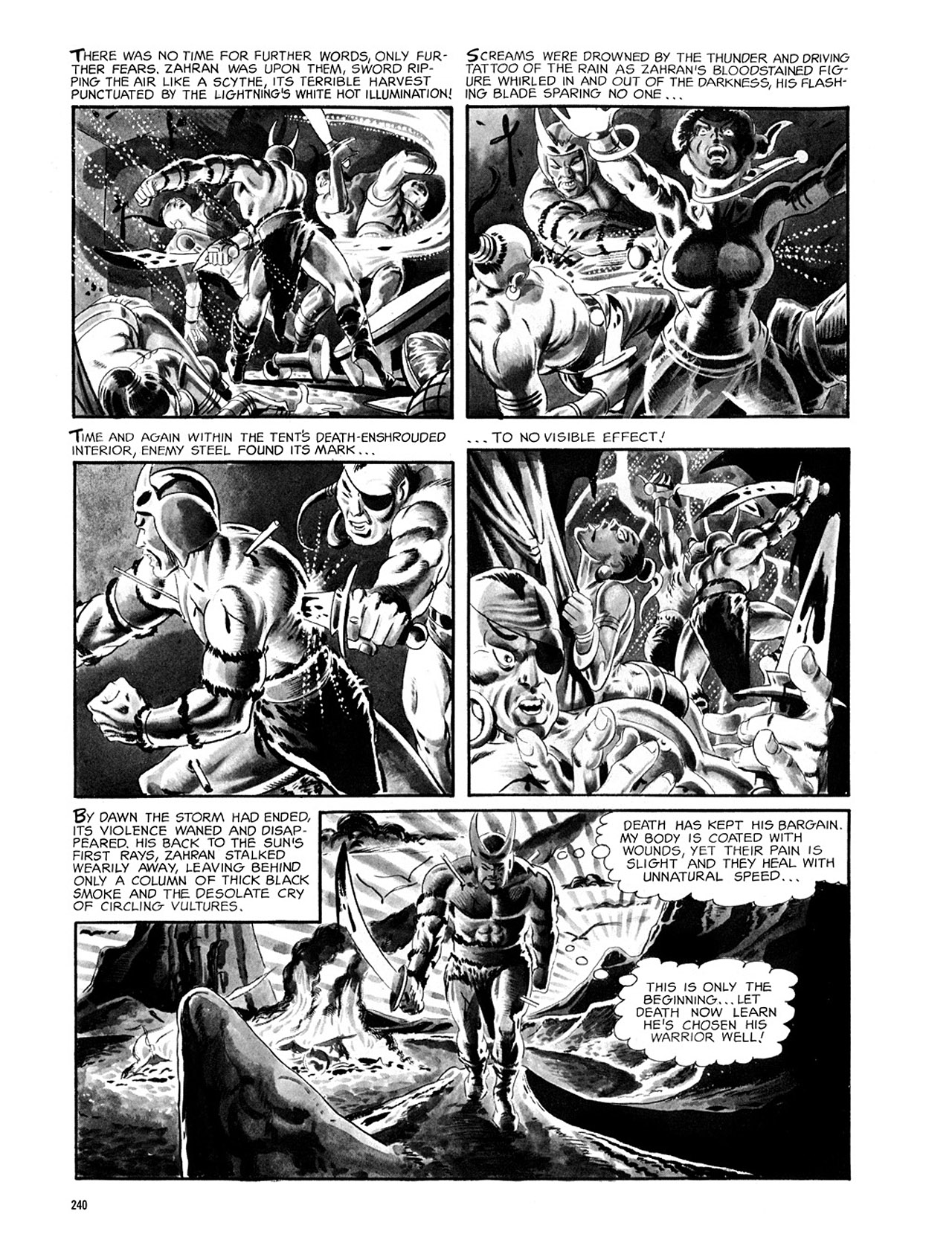 Read online Eerie Archives comic -  Issue # TPB 2 - 241