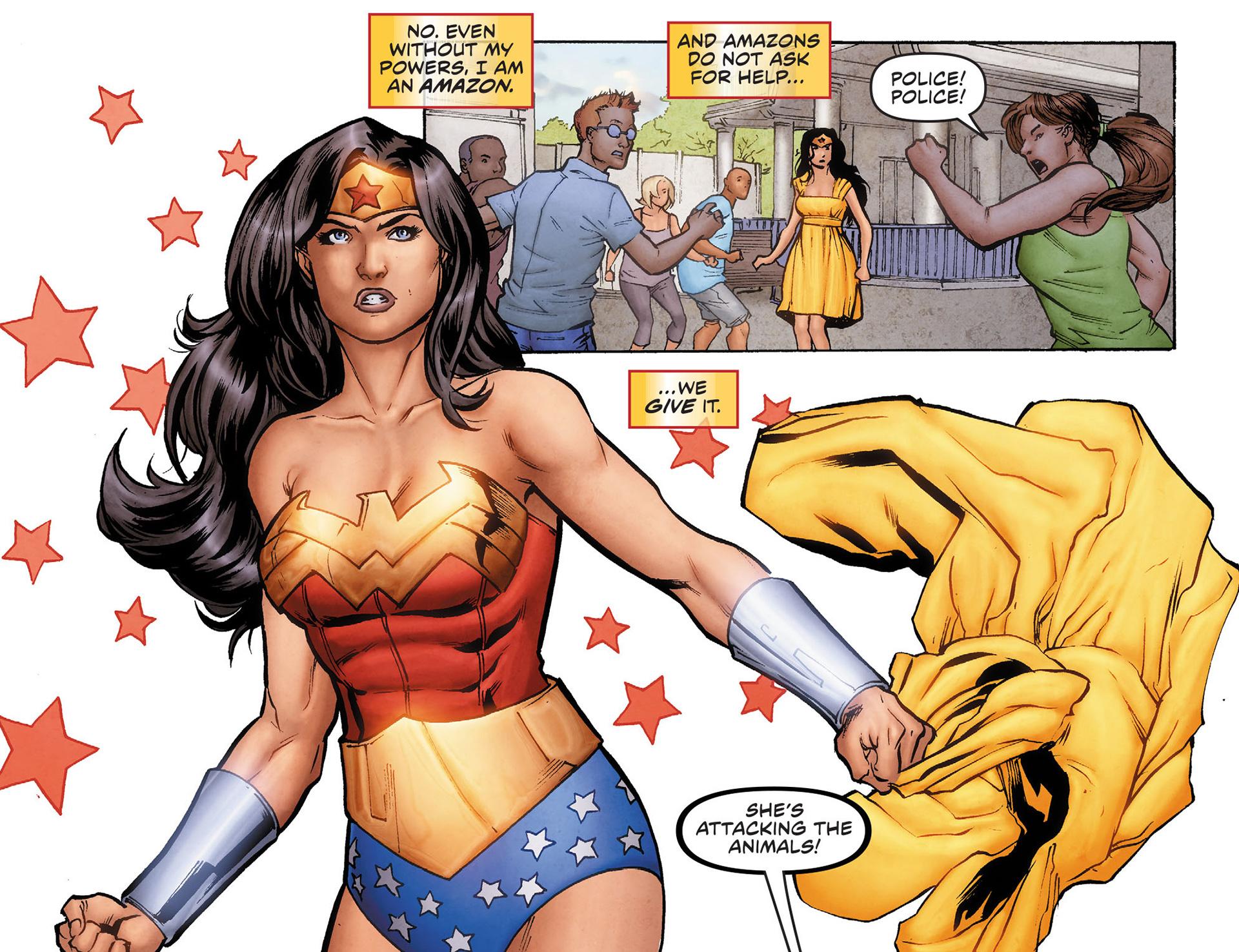 Read online Sensation Comics Featuring Wonder Woman comic -  Issue #6 - 6