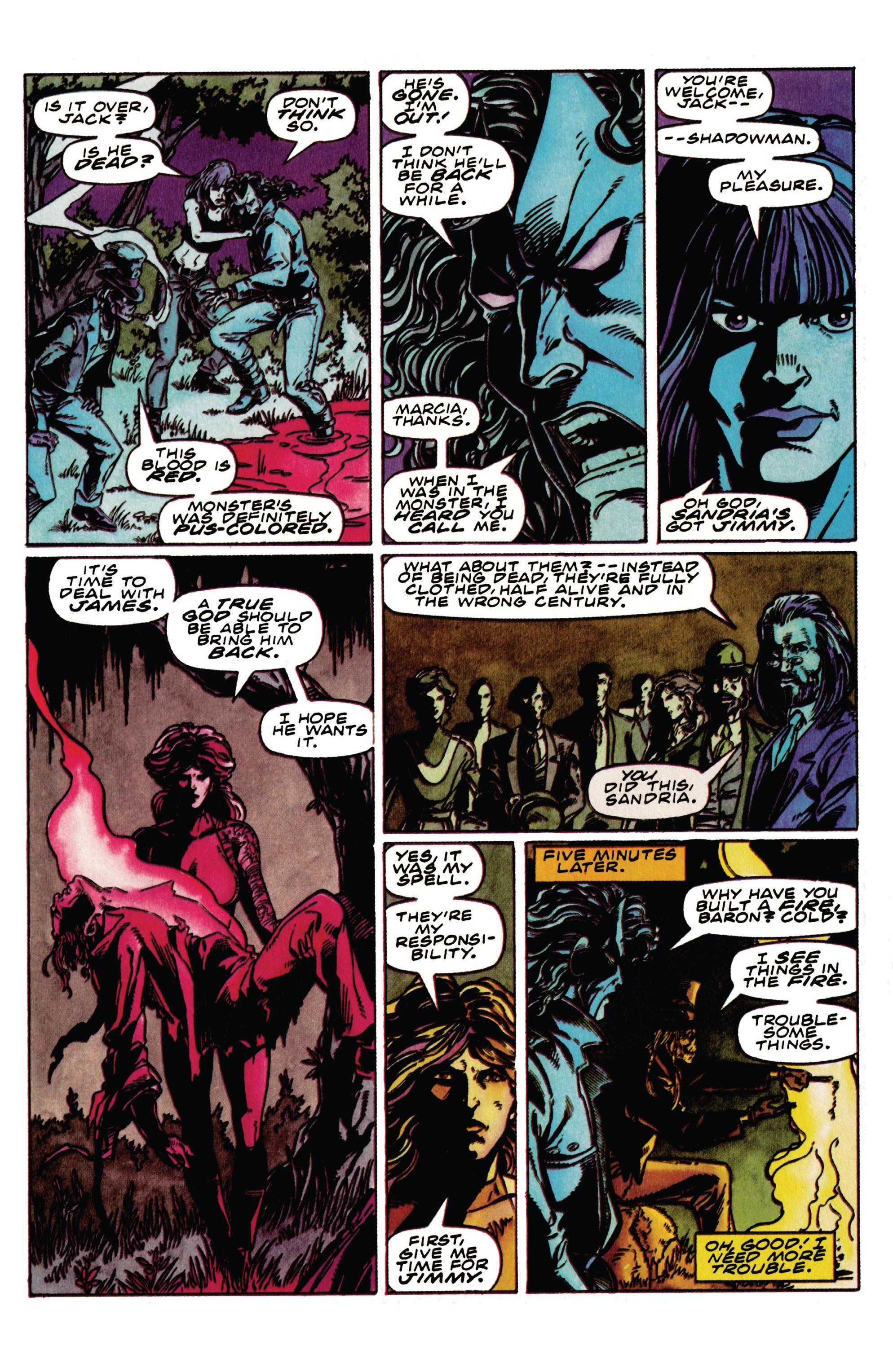 Read online Shadowman (1992) comic -  Issue #33 - 14