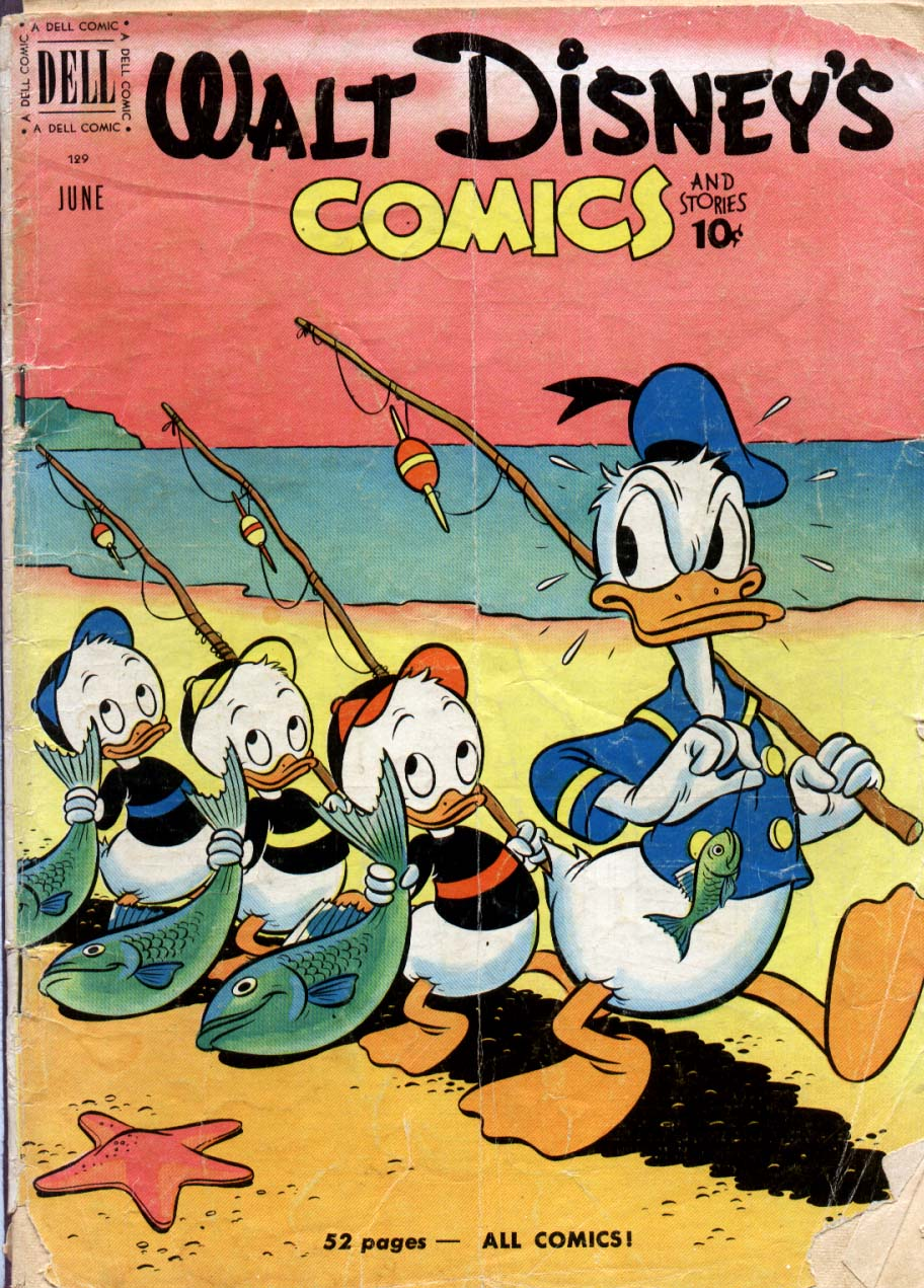Walt Disney's Comics and Stories issue 129 - Page 1