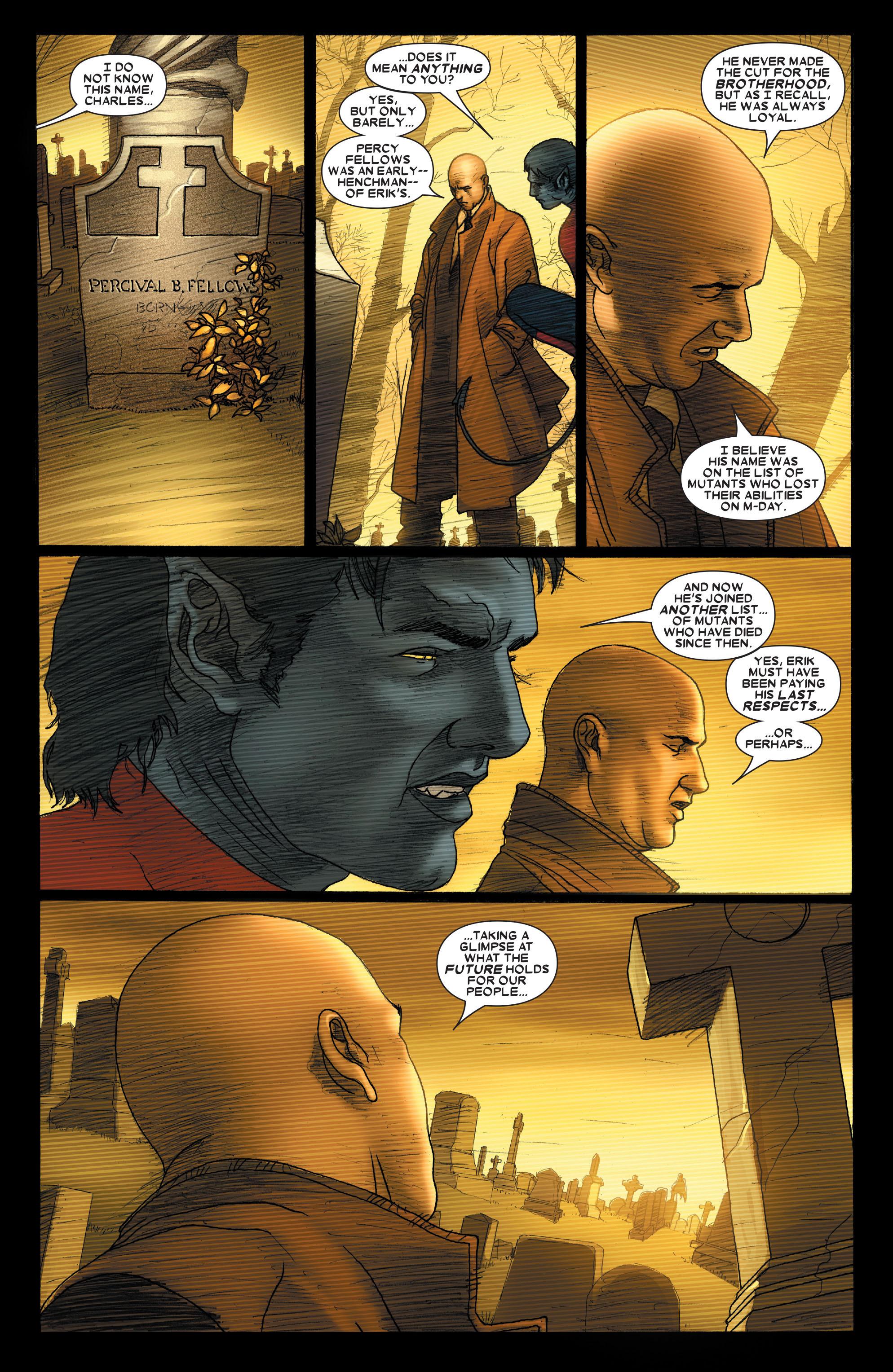 Read online Uncanny X-Men (1963) comic -  Issue #489 - 11