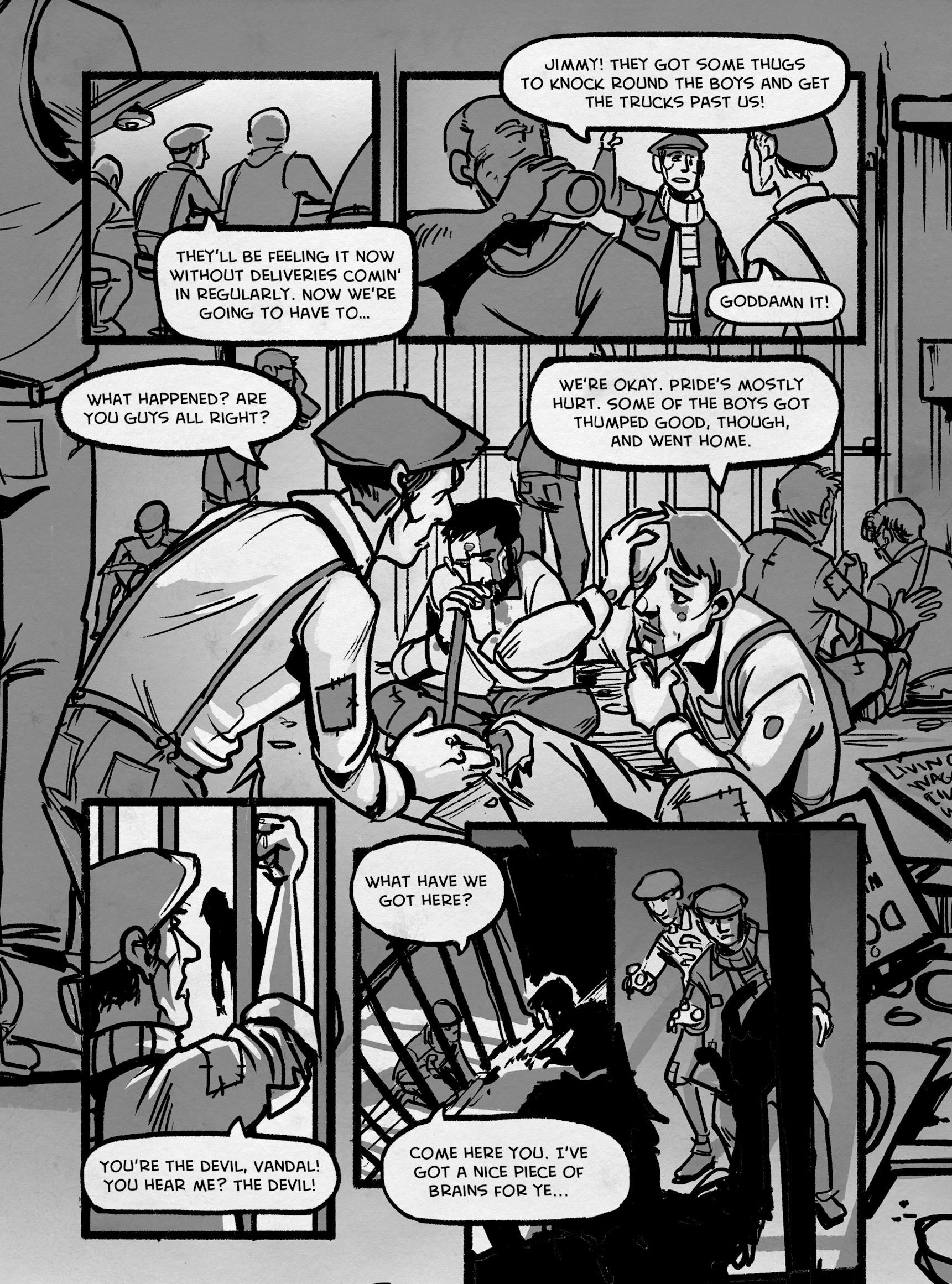 Read online FUBAR comic -  Issue #3 - 238