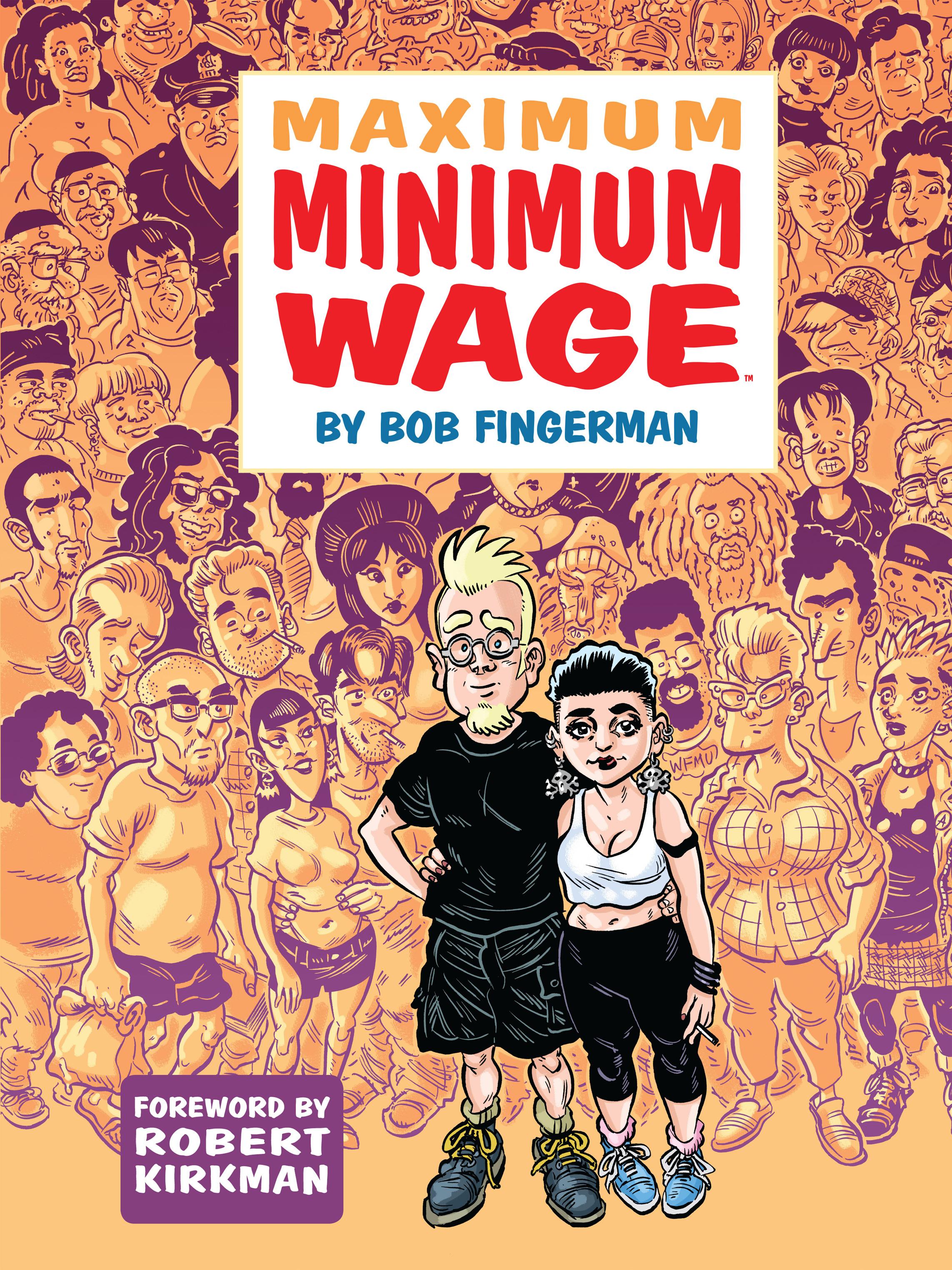 Maximum Minimum Wage issue 1 - Page 1