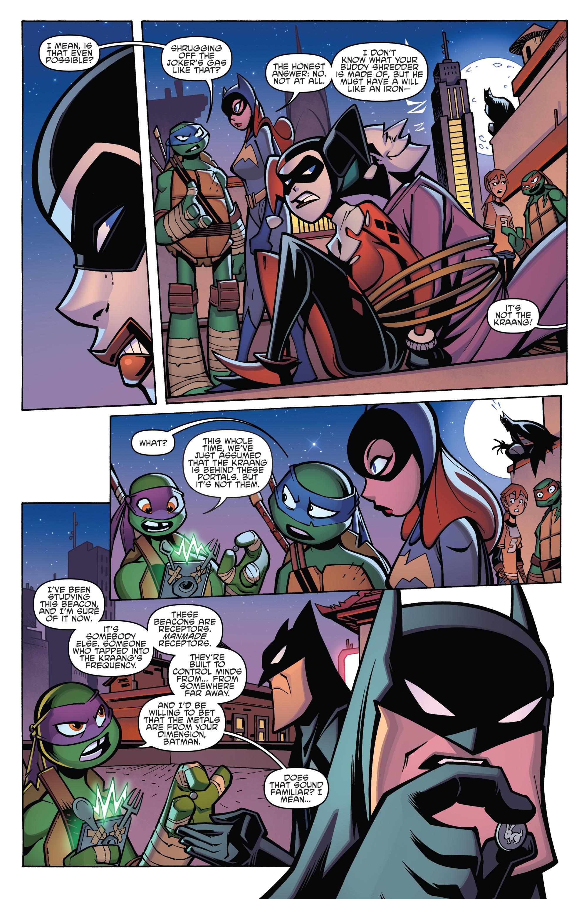 Read online Batman/Teenage Mutant Ninja Turtles Adventure comic -  Issue #4 - 21