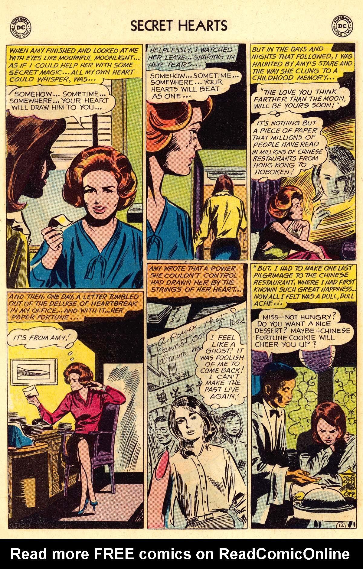 Read online Secret Hearts comic -  Issue #106 - 14