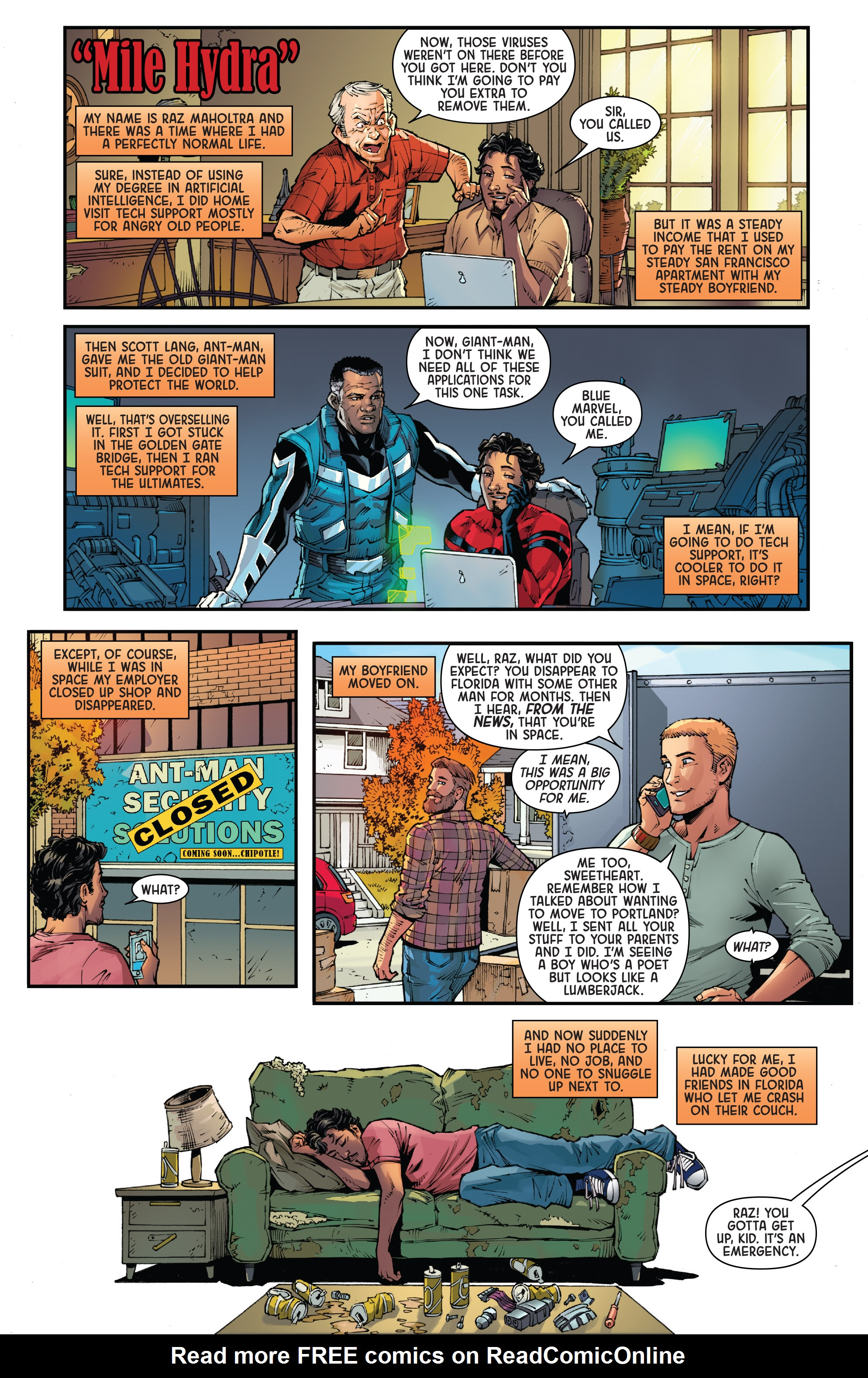 Read online Secret Empire: Brave New World comic -  Issue #1 - 12