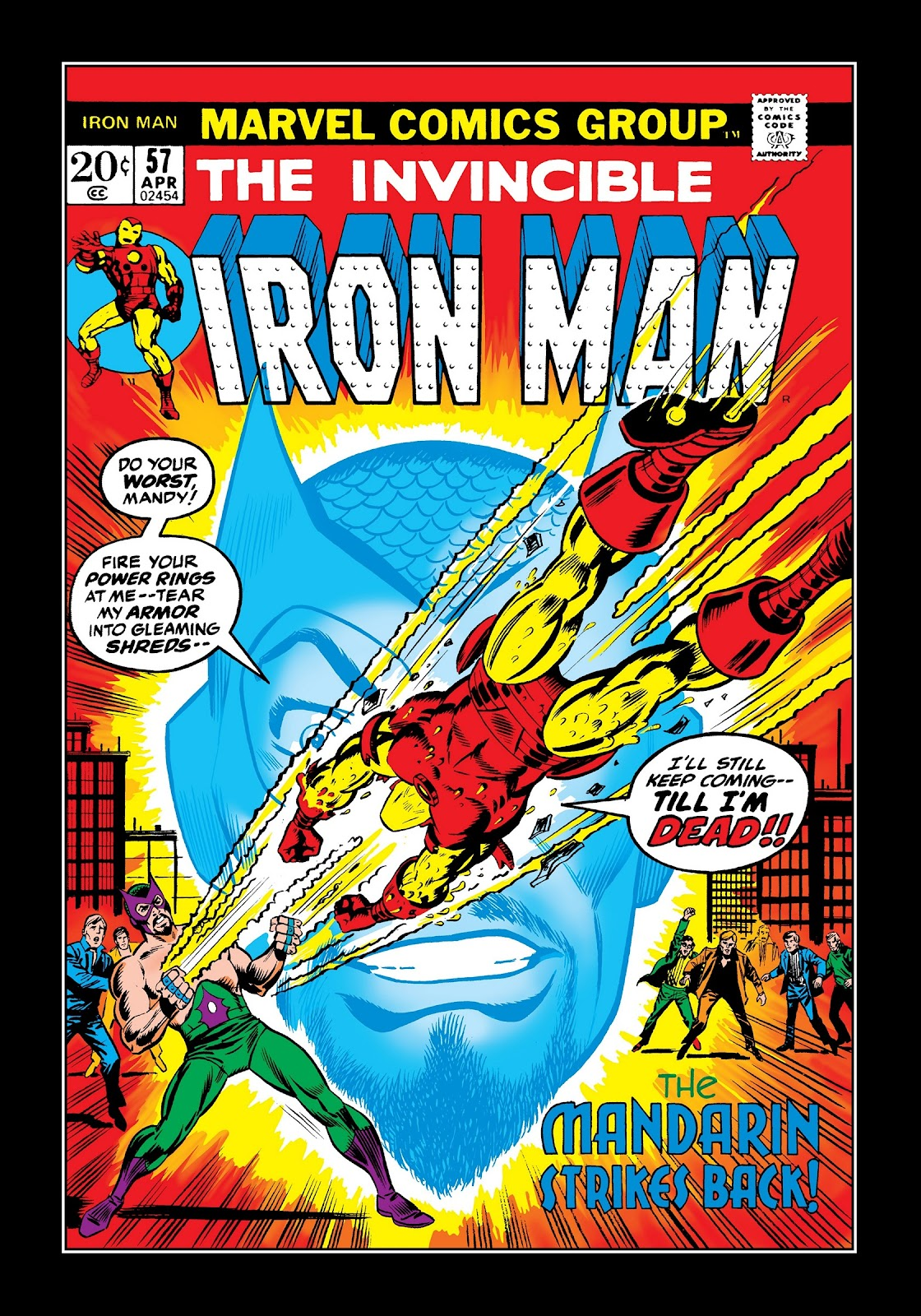 Read online Marvel Masterworks: The Invincible Iron Man comic -  Issue # TPB 9 (Part 1) - 70