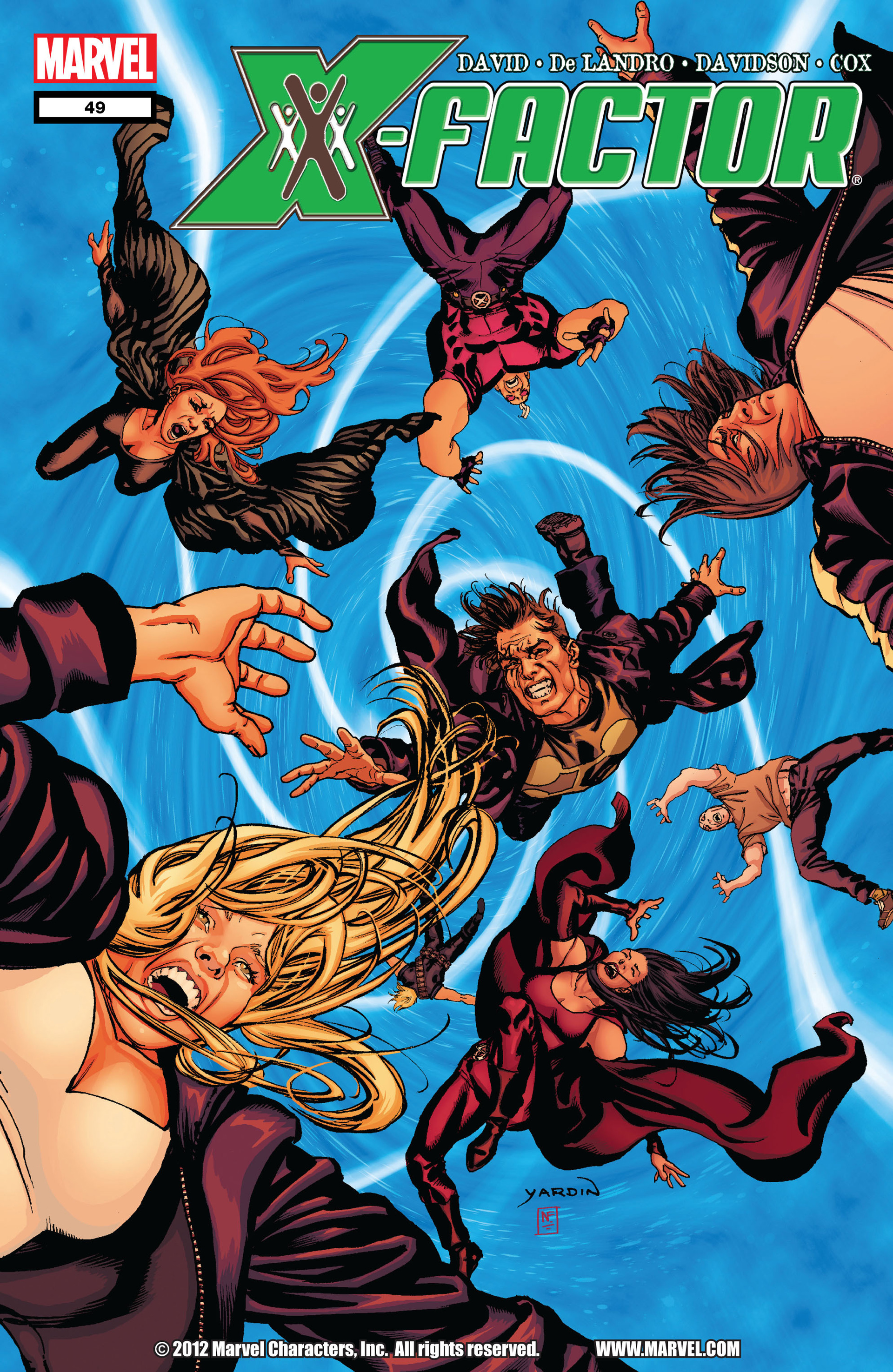 Read online X-Factor (2006) comic -  Issue #49 - 1