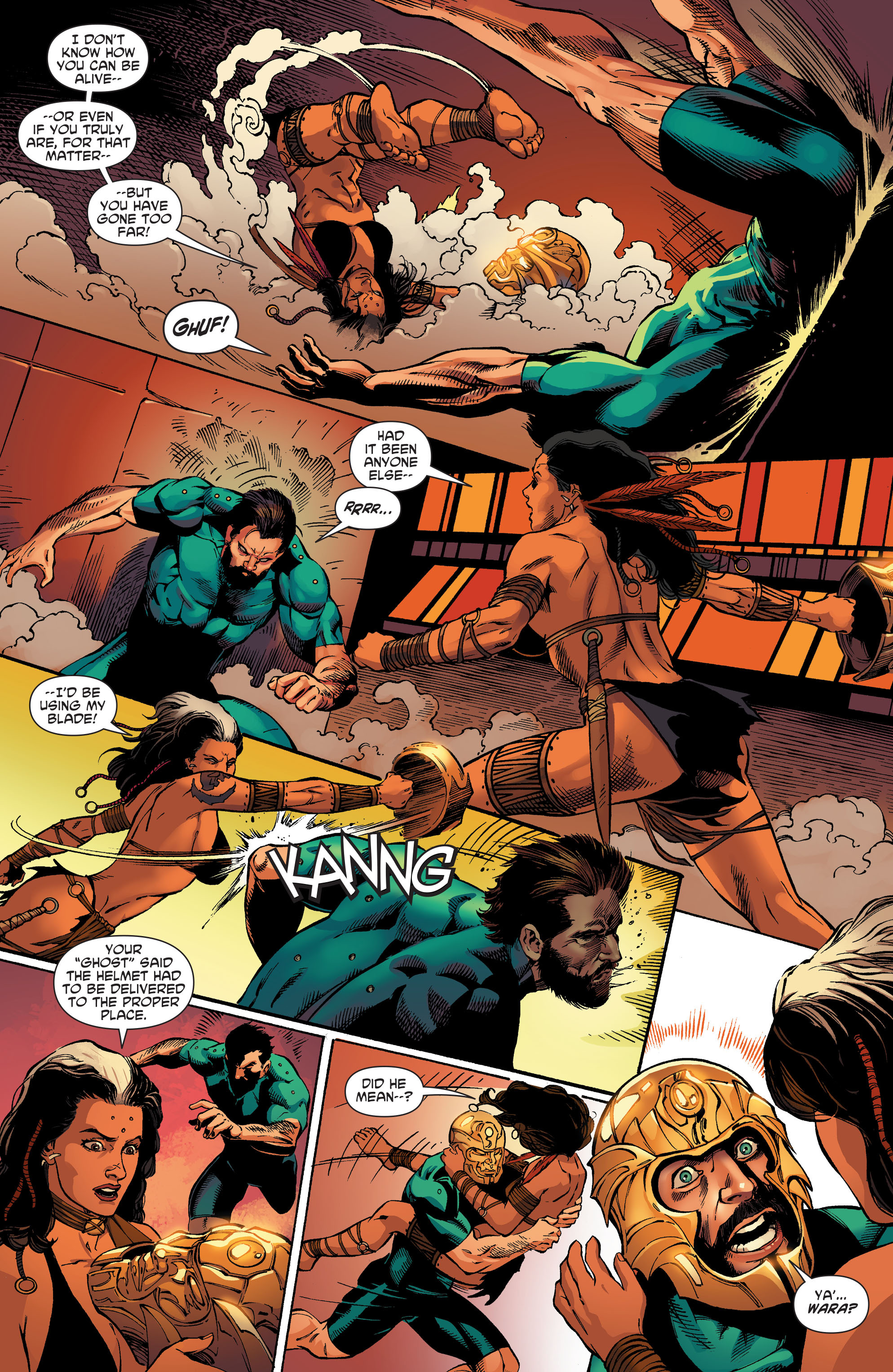 Read online Aquaman and the Others comic -  Issue #5 - 7
