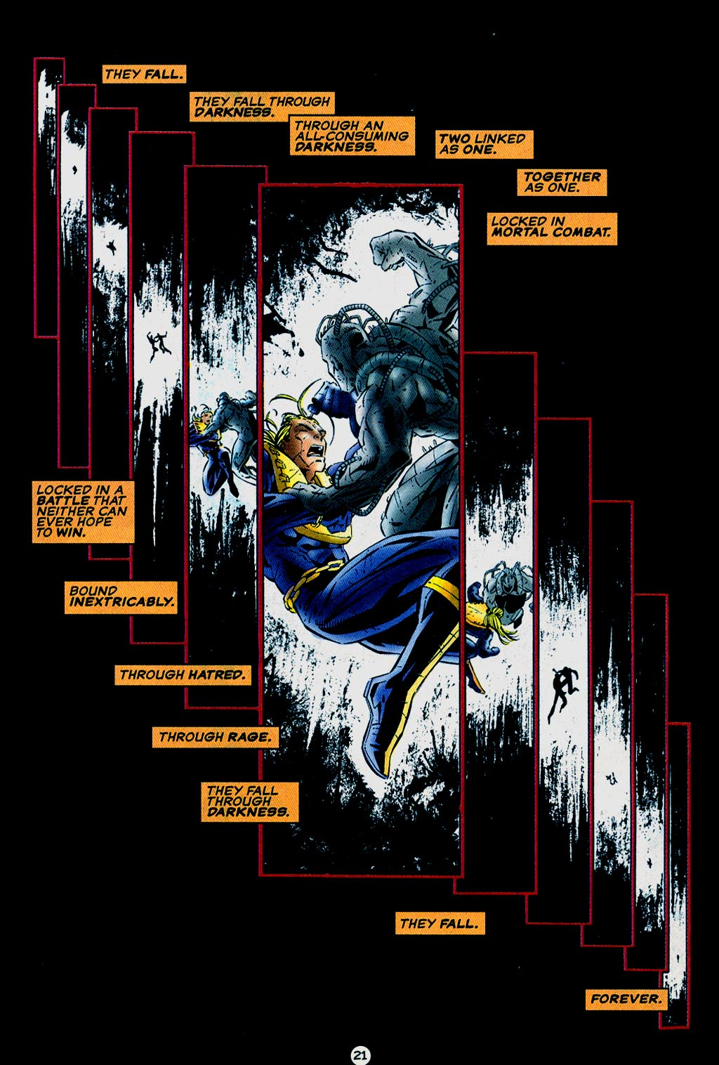 Read online UltraForce (1995) comic -  Issue #15 - 22