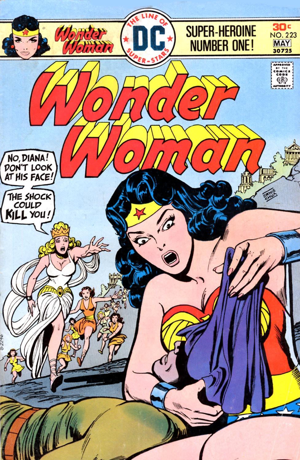Read online Wonder Woman (1942) comic -  Issue #223 - 1