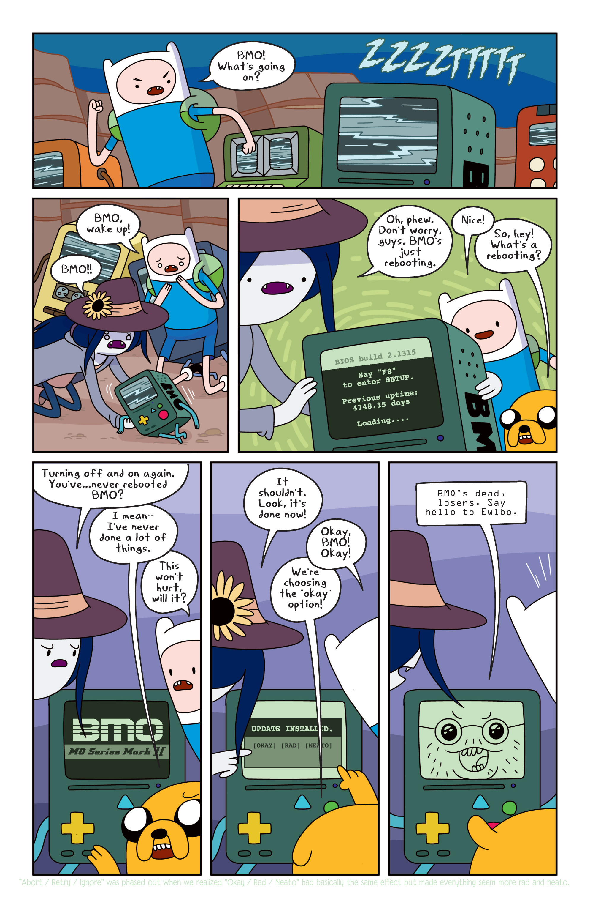 Read online Adventure Time comic -  Issue #13 - 9