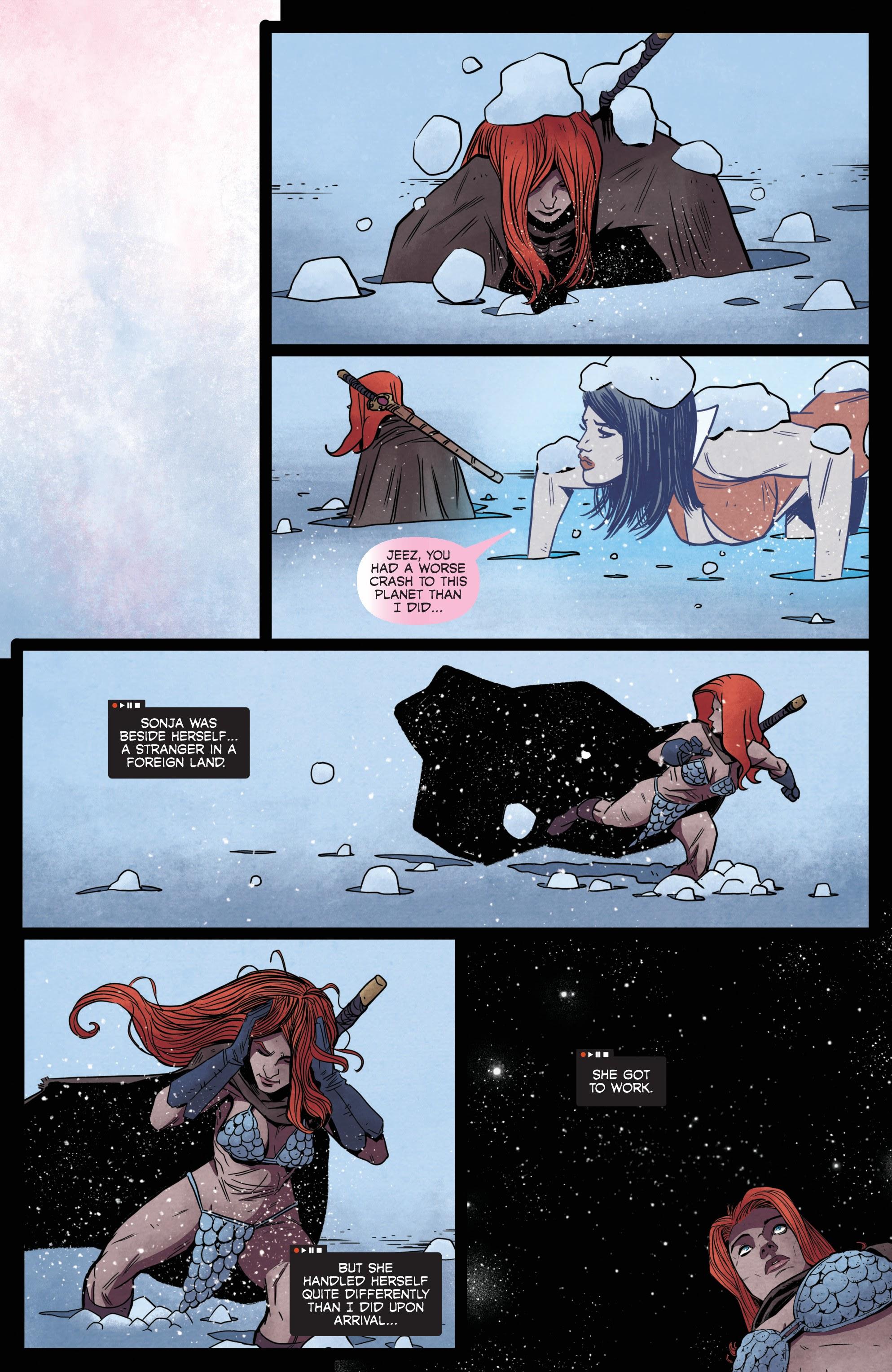 Vampirella/Red Sonja issue 6 - Page 11