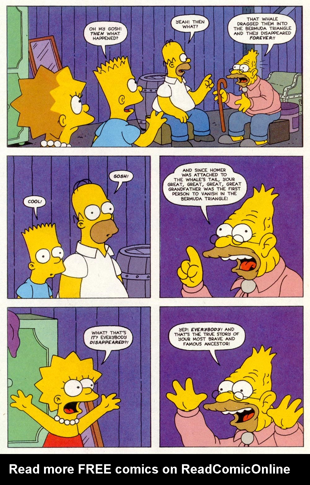 Read online Treehouse of Horror comic -  Issue #1 - 28