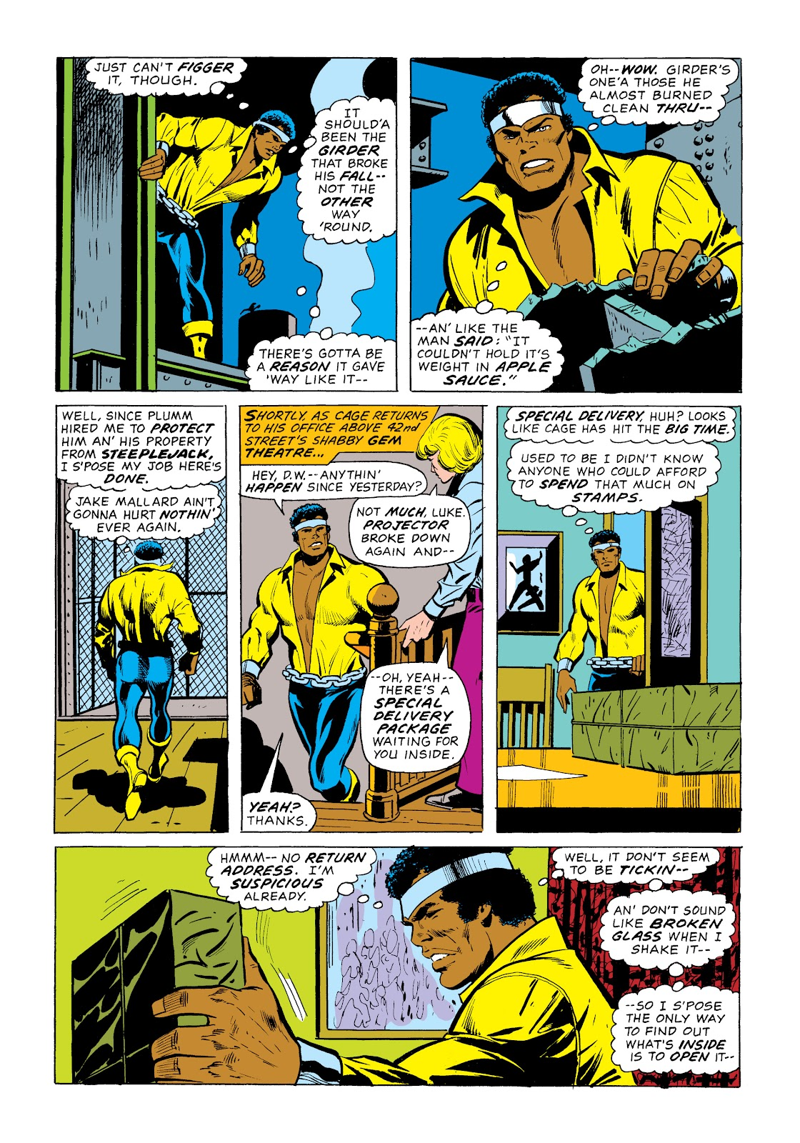 Read online Marvel Masterworks: Luke Cage, Power Man comic -  Issue # TPB 2 (Part 1) - 47