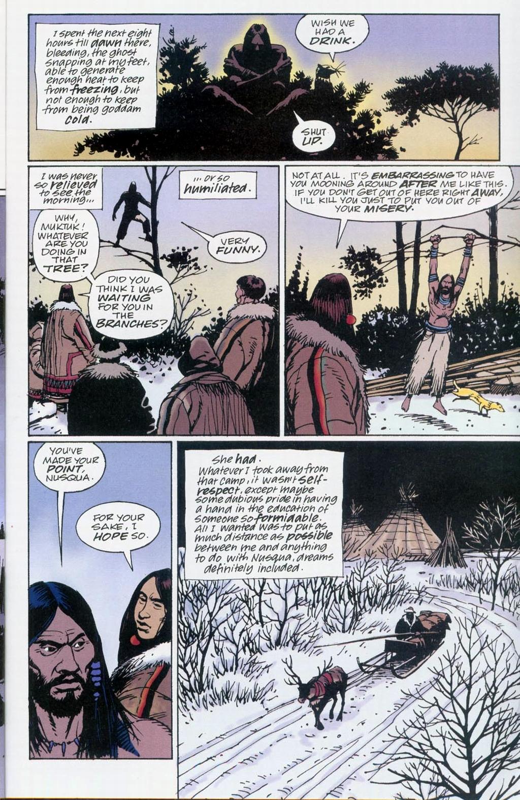Muktuk Wolfsbreath: Hard-Boiled Shaman issue 1 - Page 24
