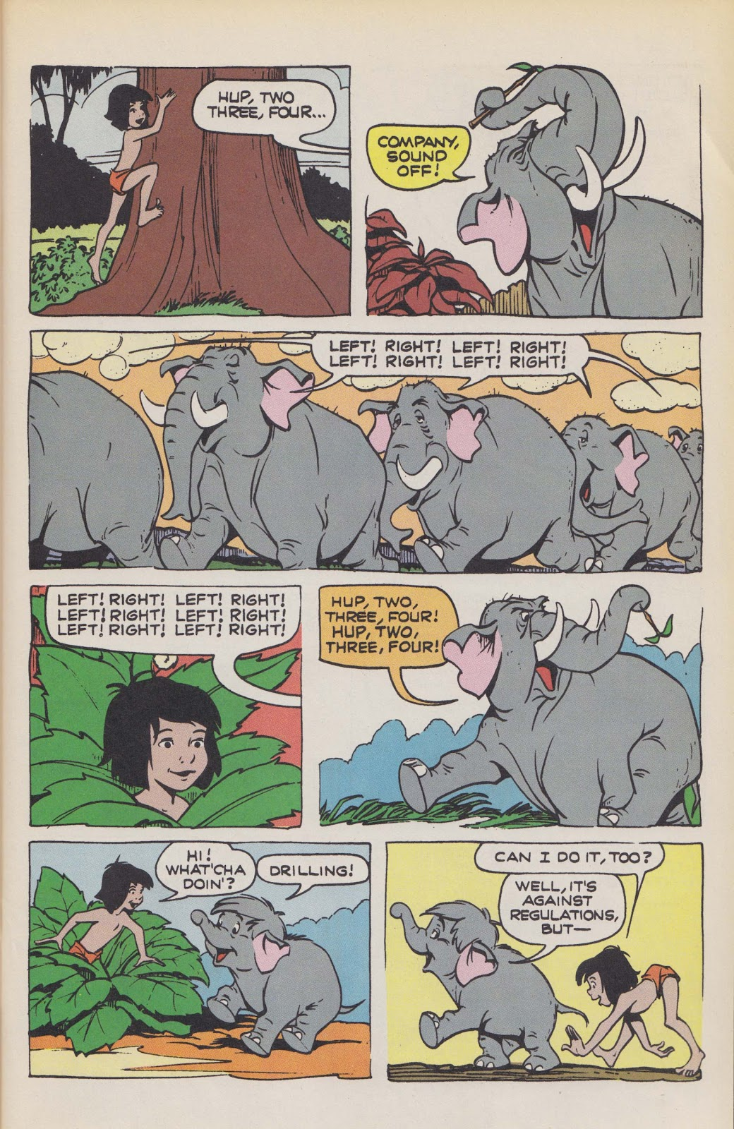 Read online The Jungle Book comic -  Issue # Full - 17