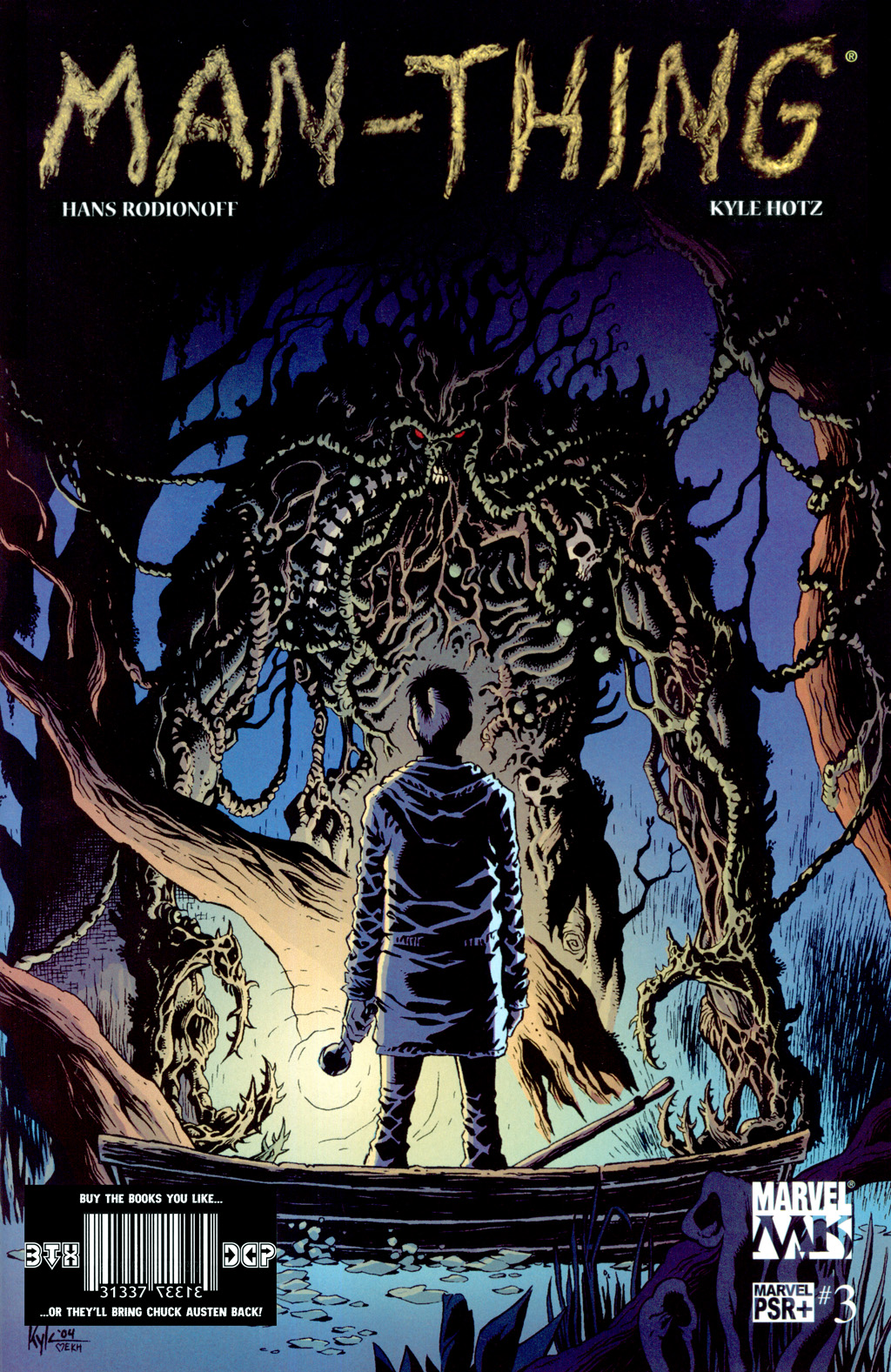 Man-Thing (2004) issue 3 - Page 1