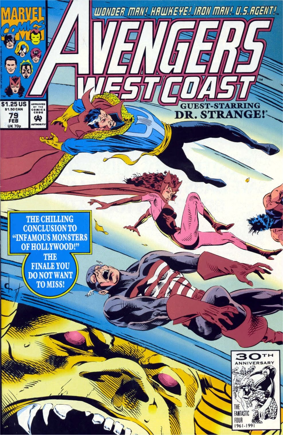 Avengers West Coast (1989) issue 79 - Page 1