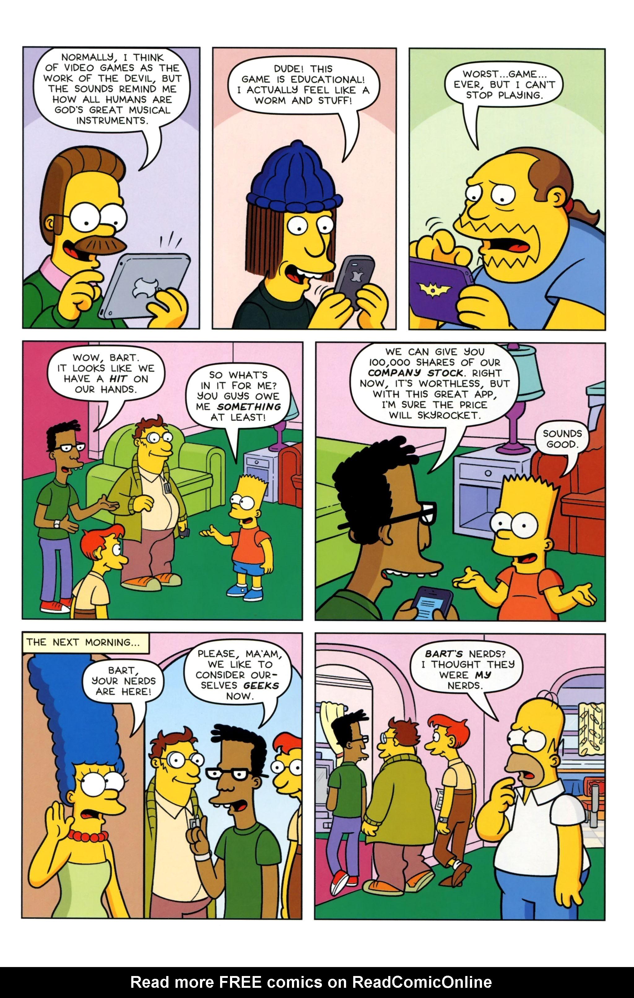 Read online Simpsons Comics Presents Bart Simpson comic -  Issue #97 - 12