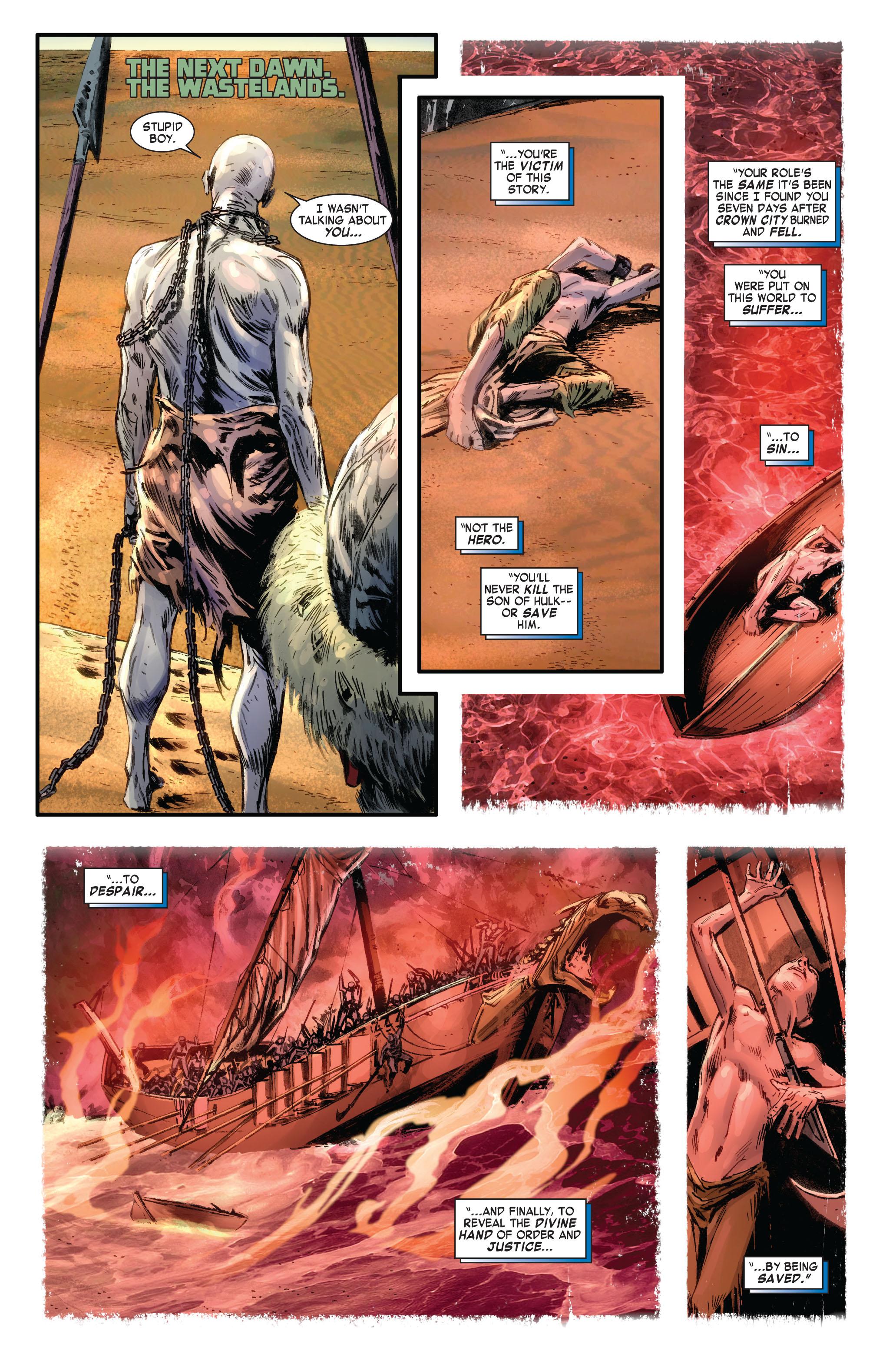 Read online Skaar: Son of Hulk comic -  Issue #4 - 17
