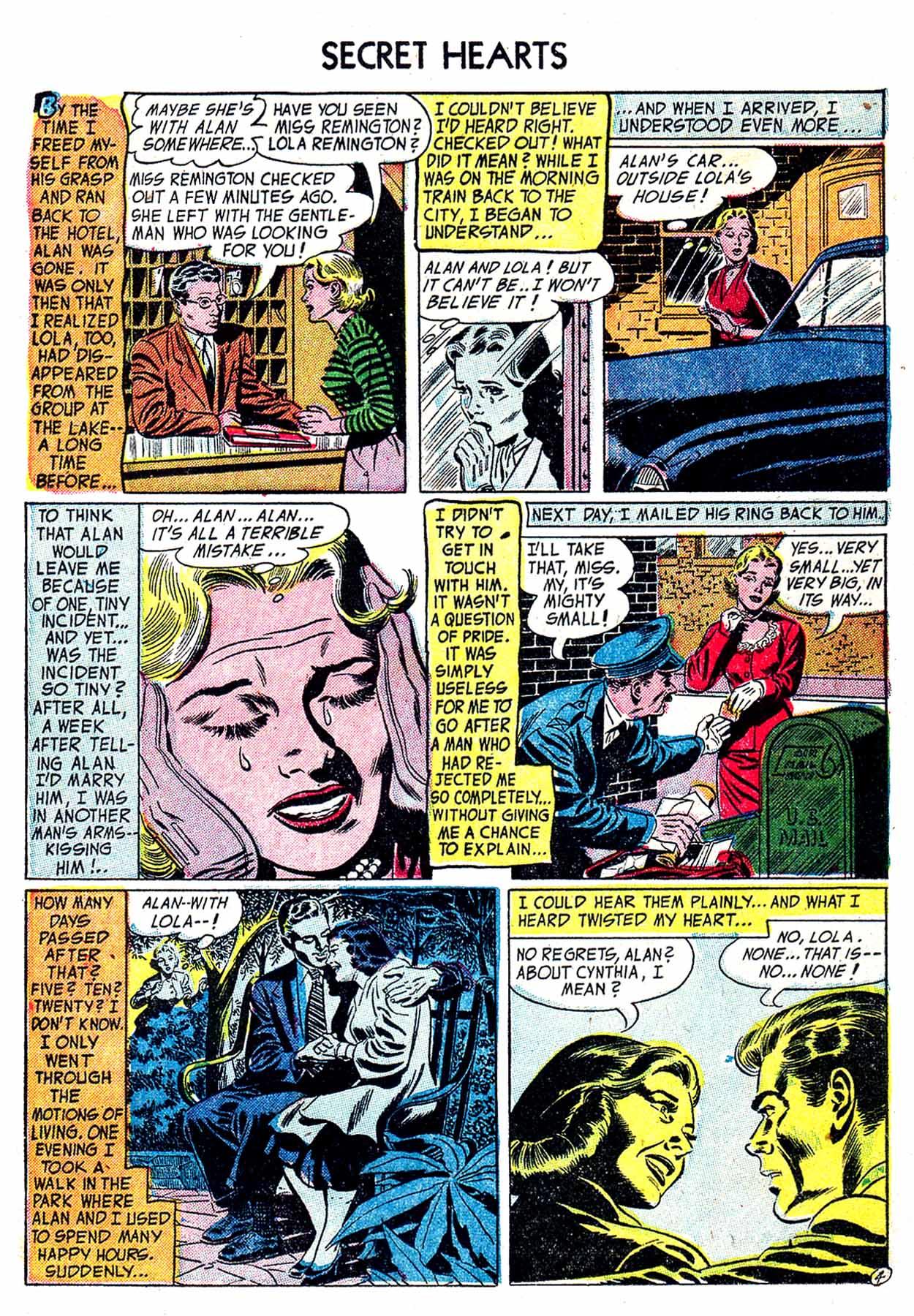 Read online Secret Hearts comic -  Issue #19 - 21