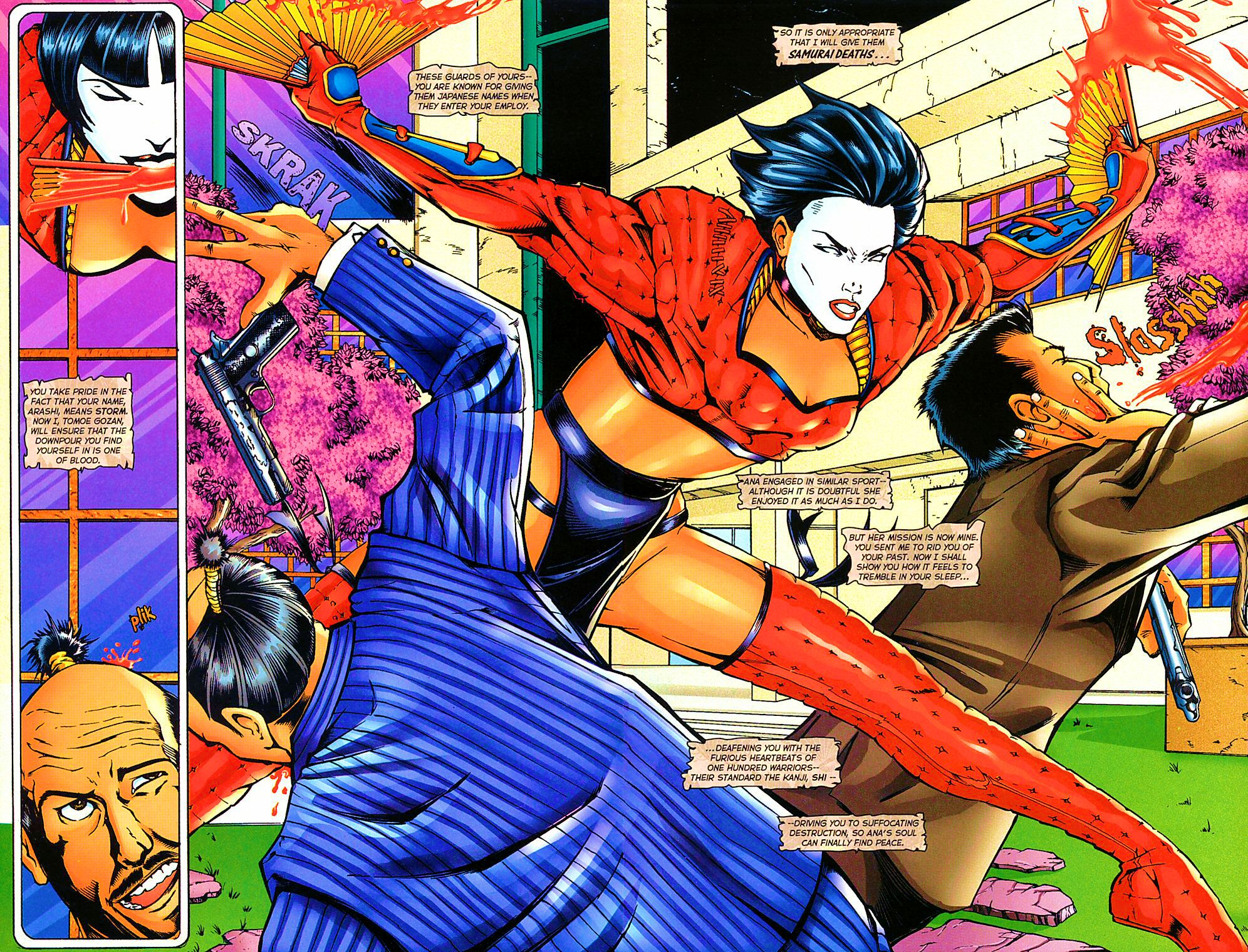 Read online Shi: The Way of the Warrior comic -  Issue #10 - 4