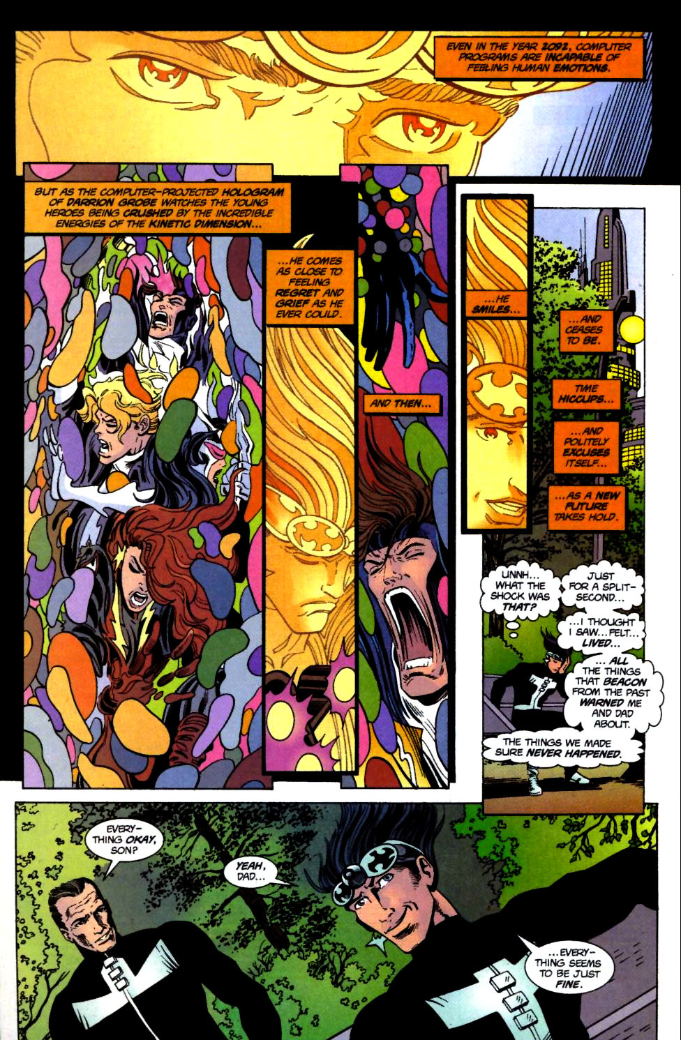 The New Warriors Issue #71 #75 - English 20